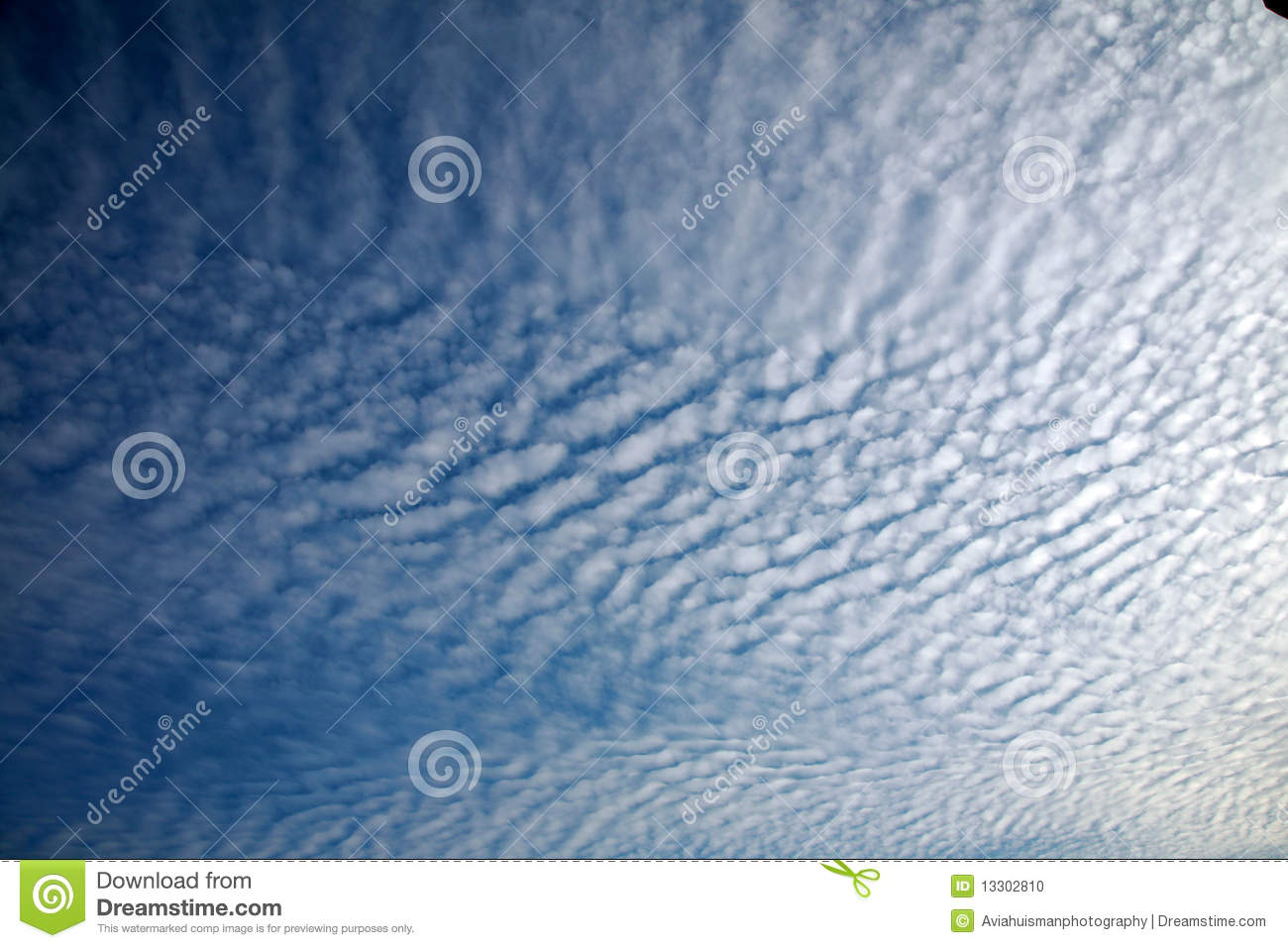 Cotton Clouds Background