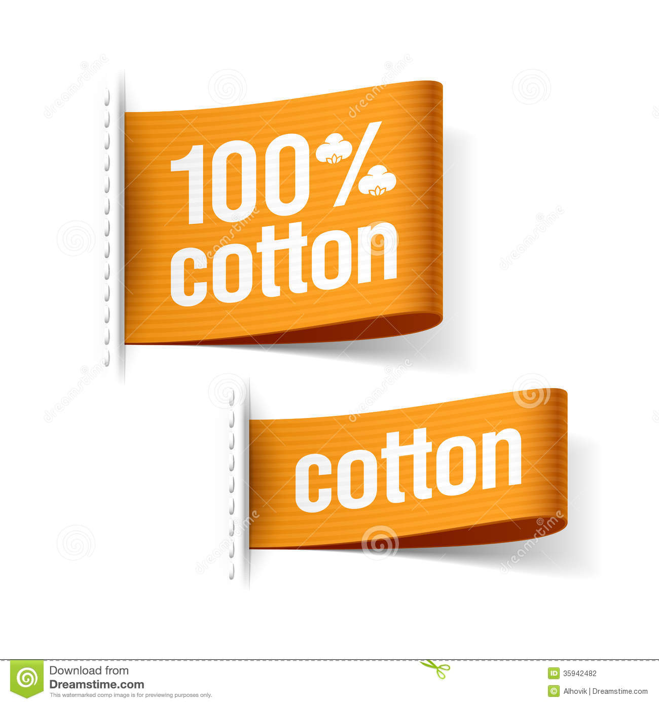 100 cotton product stock photo image of promotion With clothing product labels
