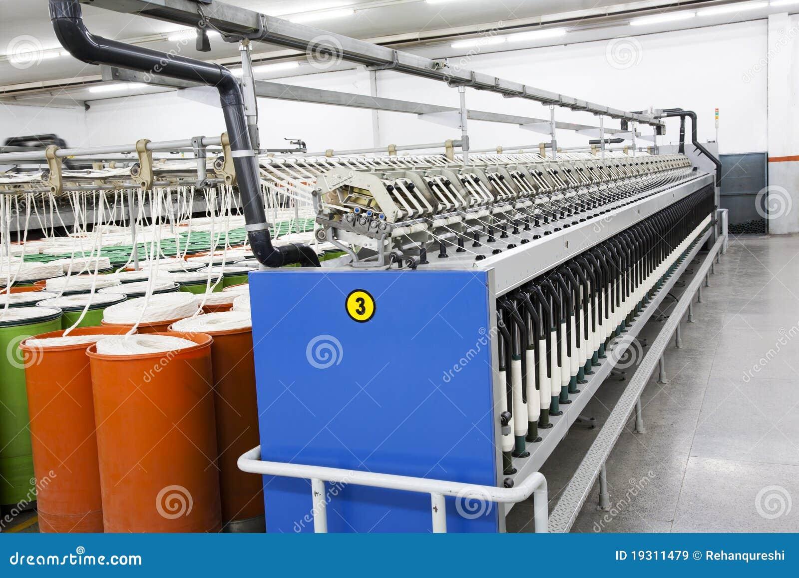Warehouse manufacturing cotton Yarn