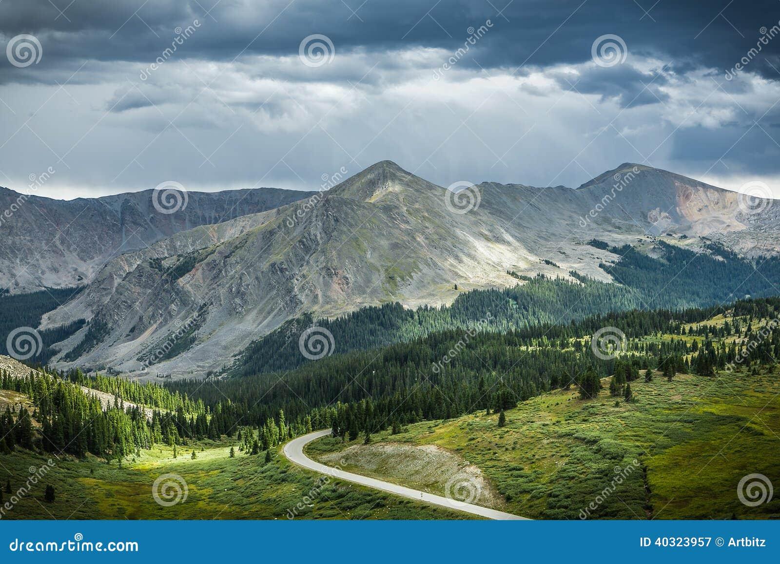 Cottonwood Pass, Colorado Continental Divide