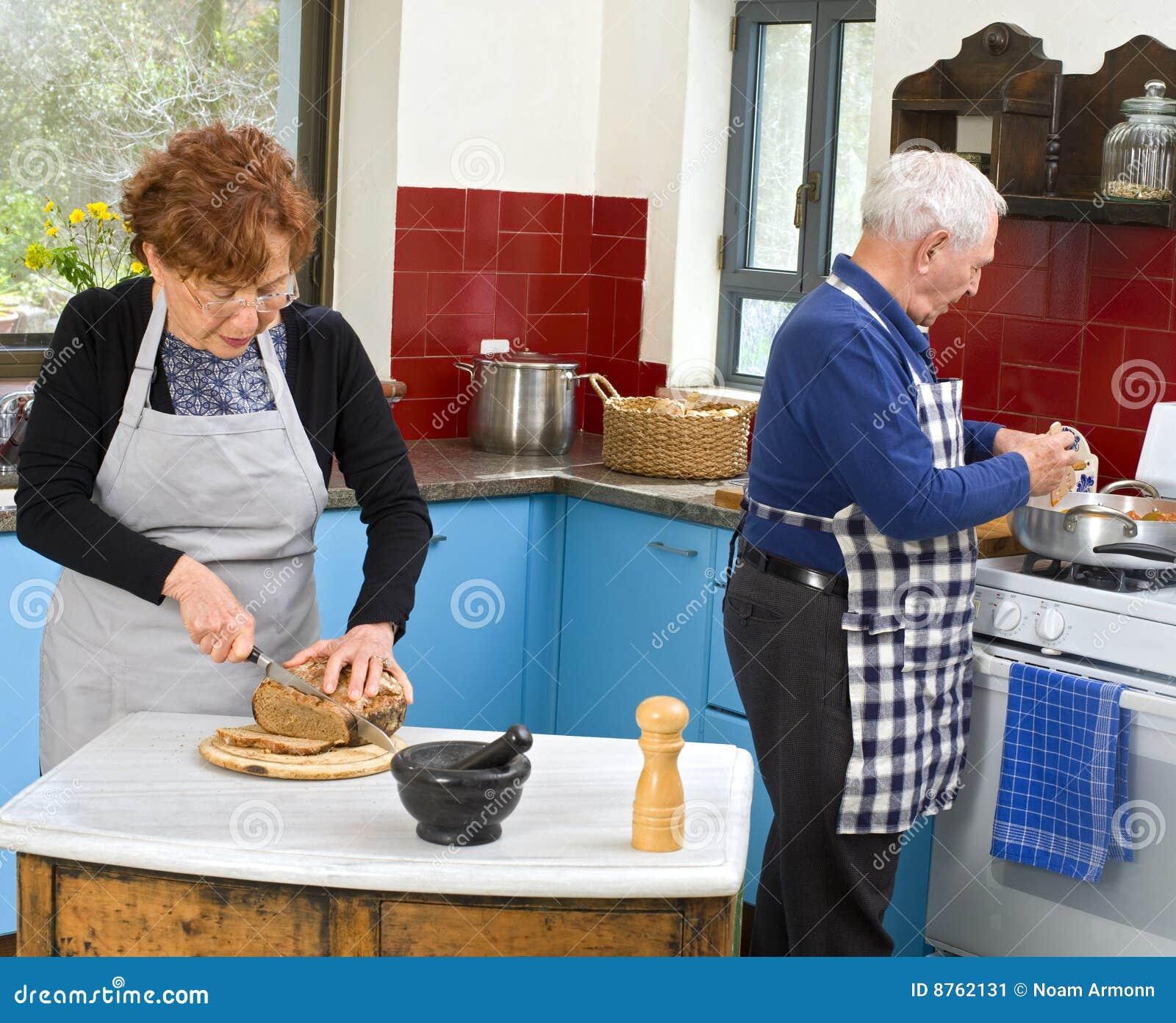 Cottura dell anziano delle coppie