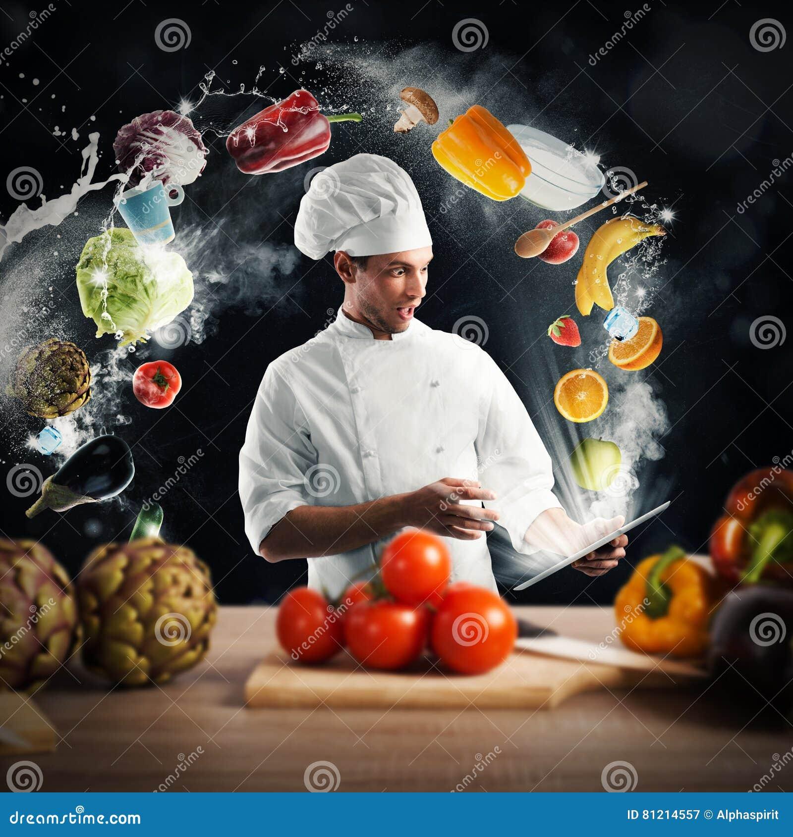 Cottura della ricetta dalla compressa