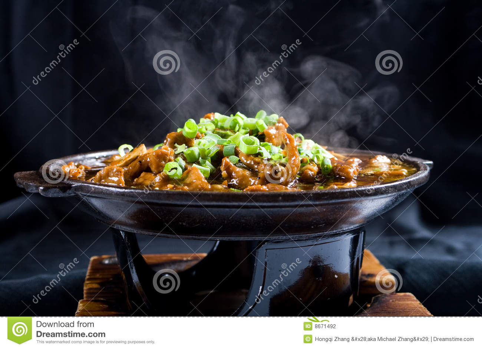 Cottura a vapore dell alimento cinese