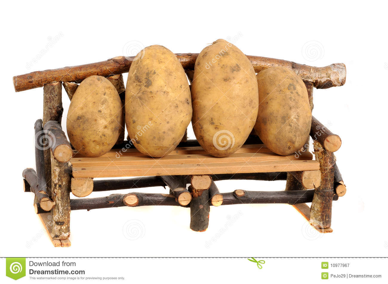 Couch Potatoes Stock Image Image Of Freshness Humus