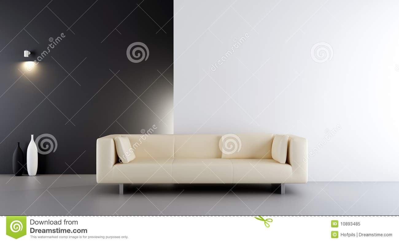 Pleasant Couch To Face A Blank Wall Stock Illustration Illustration Machost Co Dining Chair Design Ideas Machostcouk