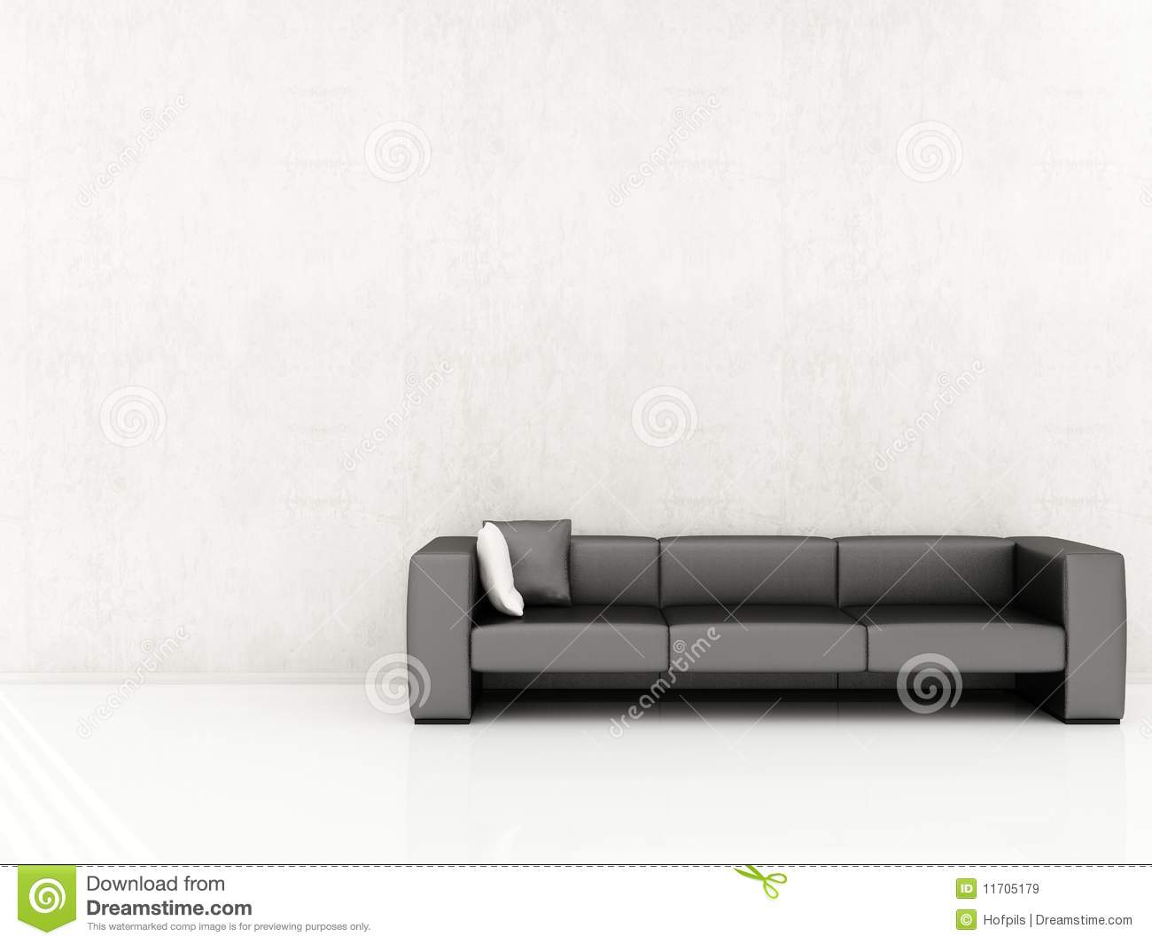 Sensational Couch To Face A Blank Wall Stock Illustration Illustration Machost Co Dining Chair Design Ideas Machostcouk