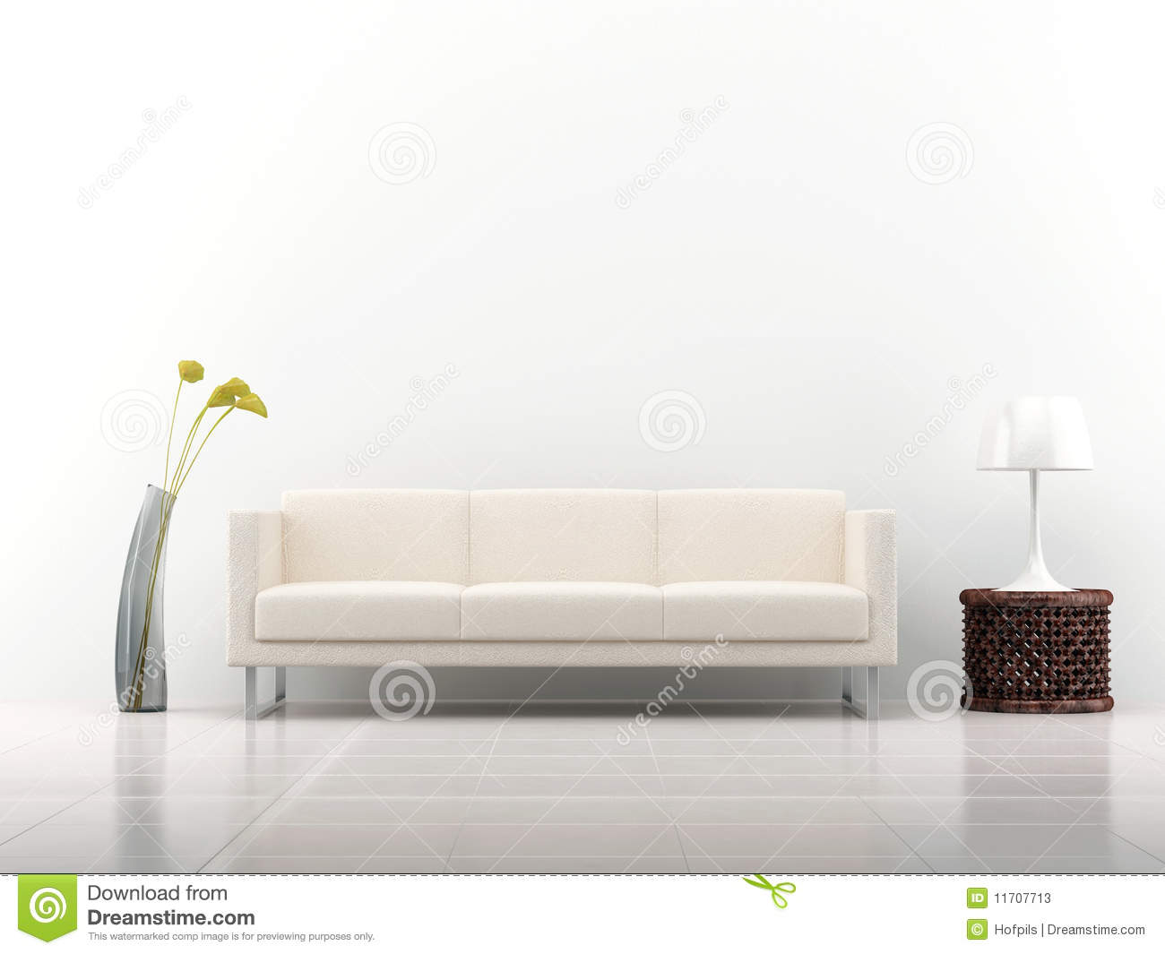 Couch to face a blank wall stock illustration image of for What to do with a blank wall