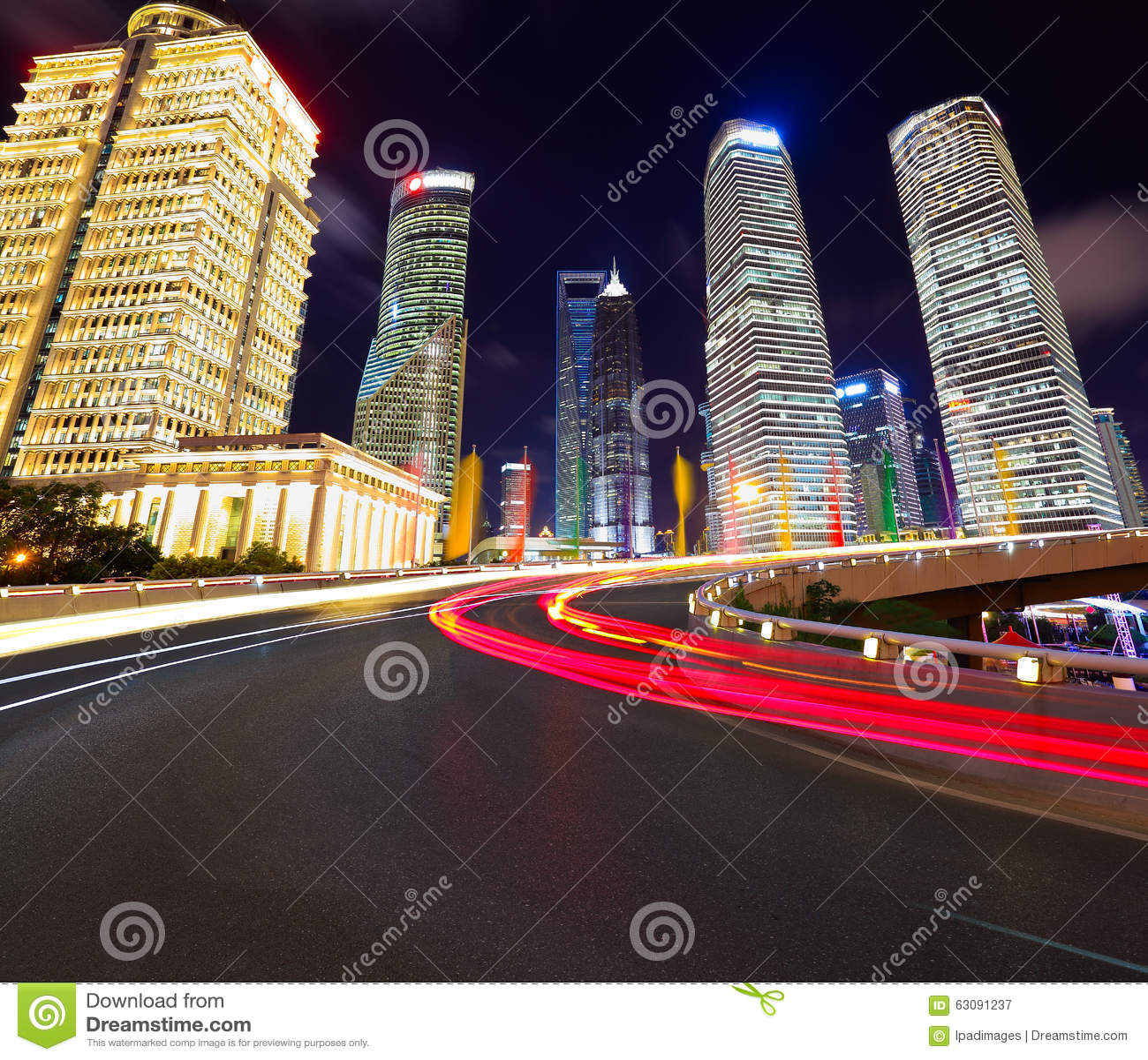 Download Couche De Surface Vide Avec Des Bâtiments De Ville De Lujiazui De Changhaï Image stock - Image du blur, changhaï: 63091237