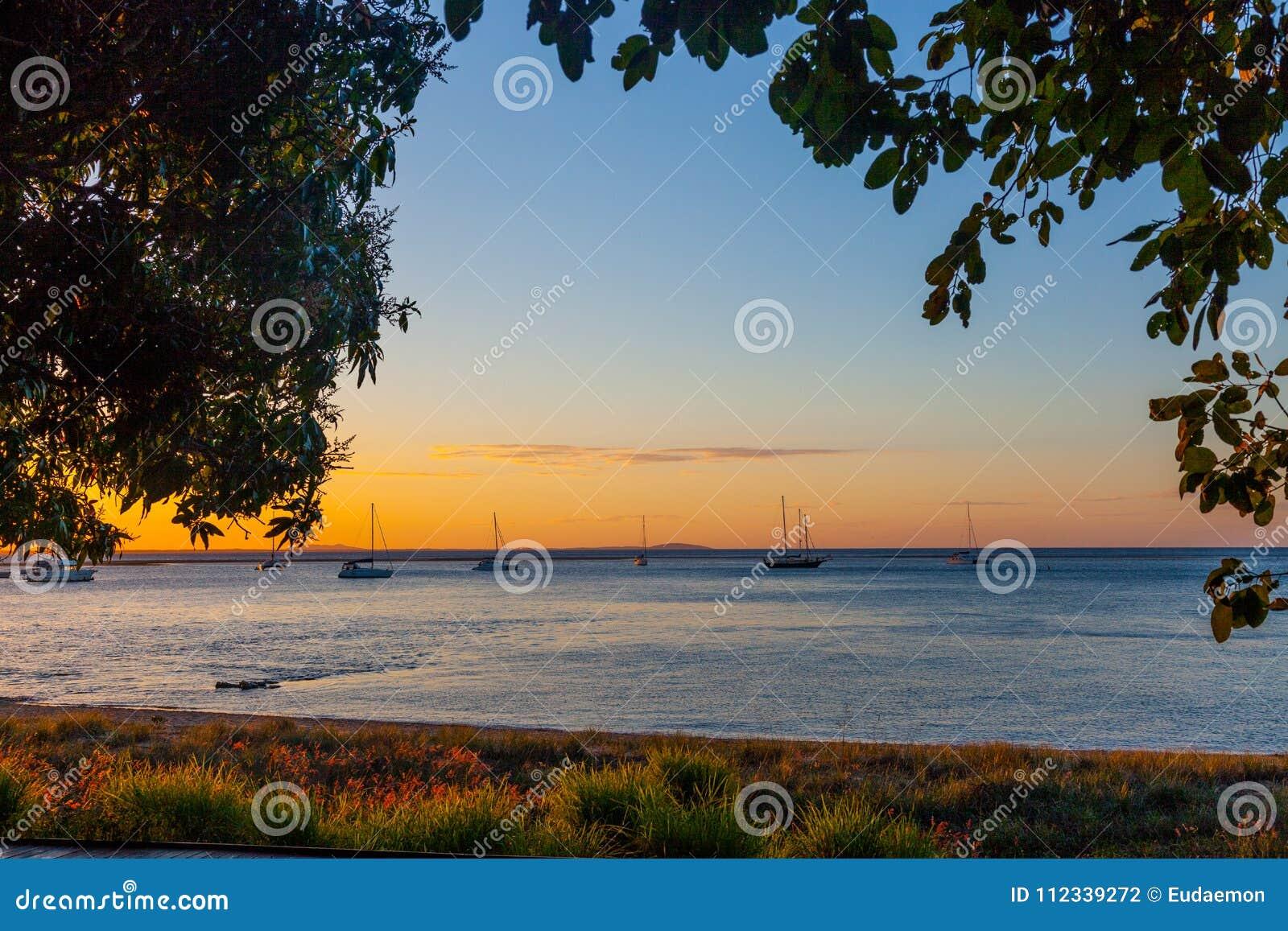 Coucher du soleil à dix-sept soixante-dix, Queensland