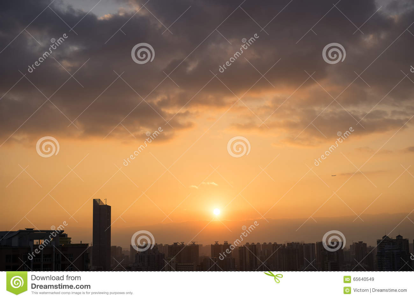 Coucher du soleil