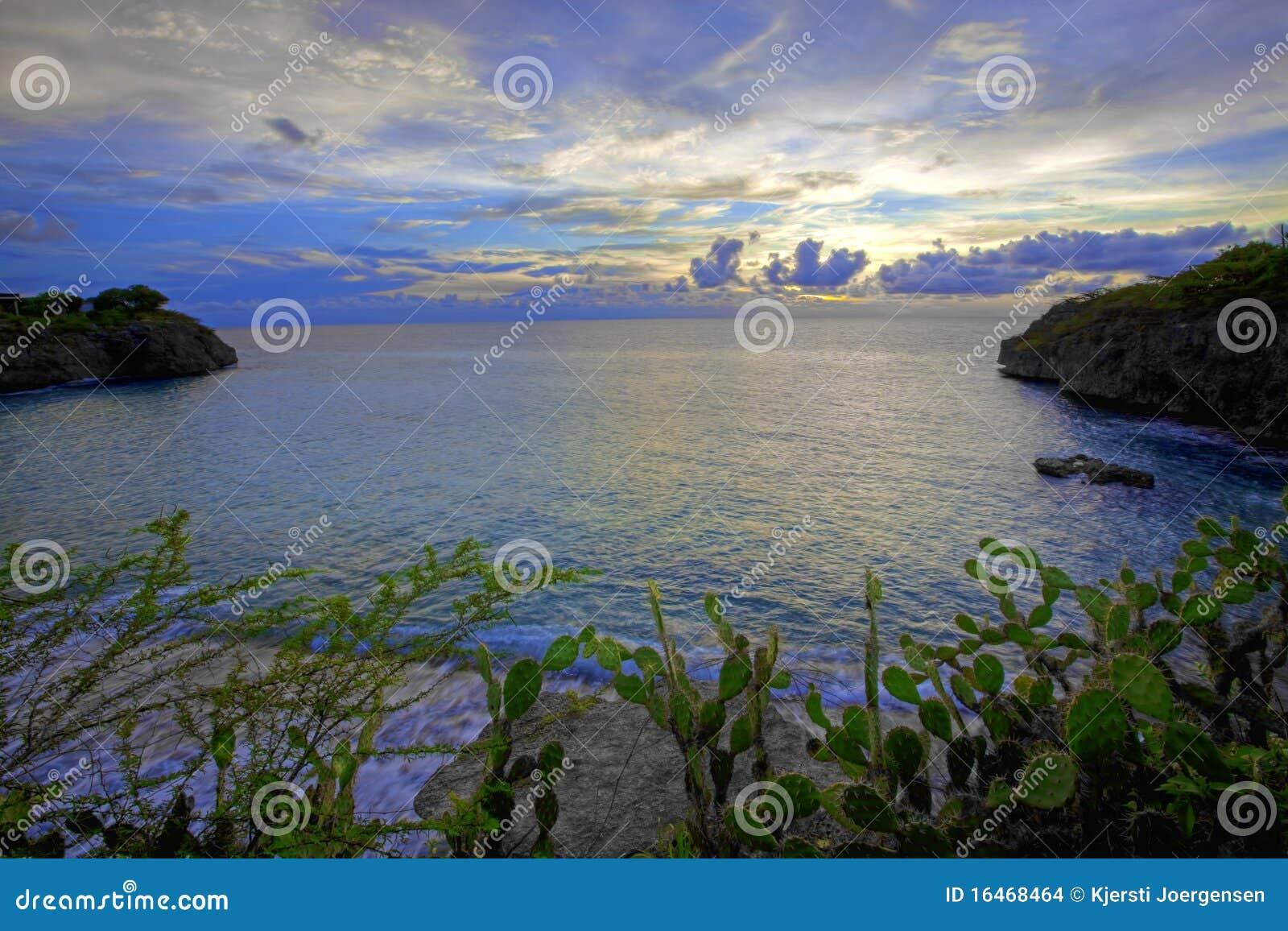 Coucher du soleil Curaçao