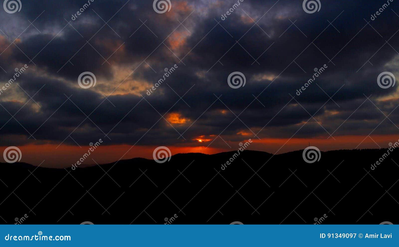 Coucher du soleil d Arthur Rubinstein Memorial