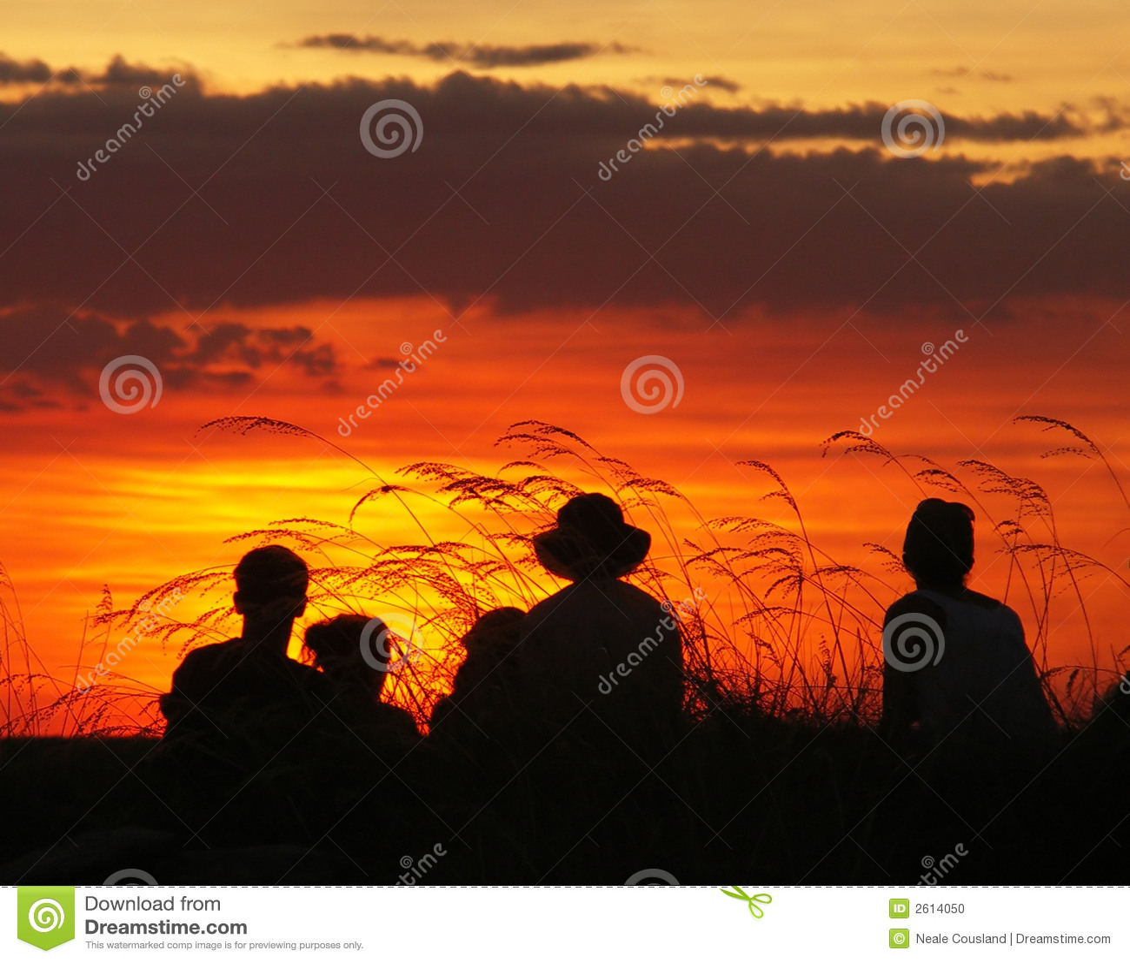 Coucher du soleil de Kakadu