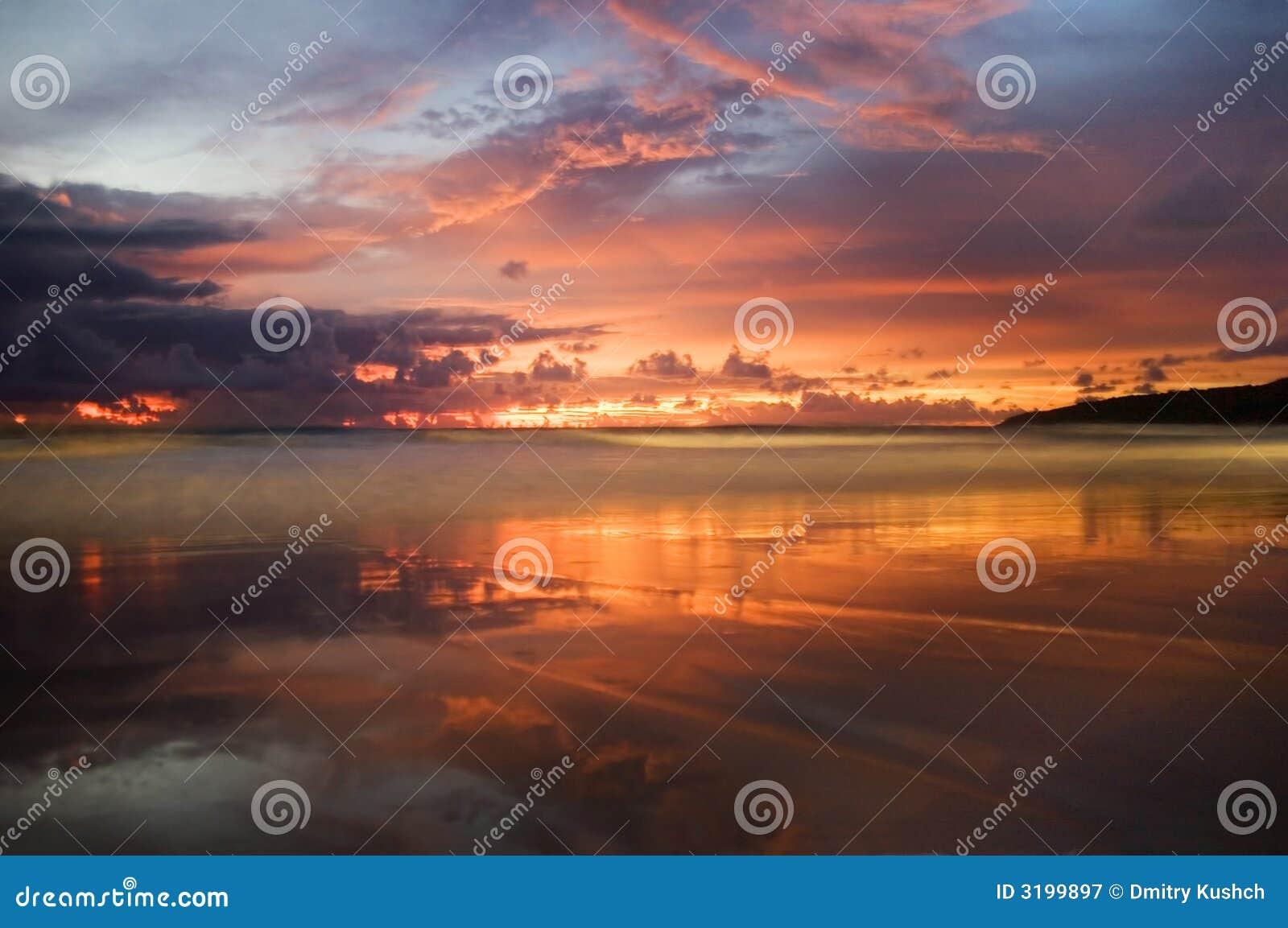 Coucher du soleil de Karon-4