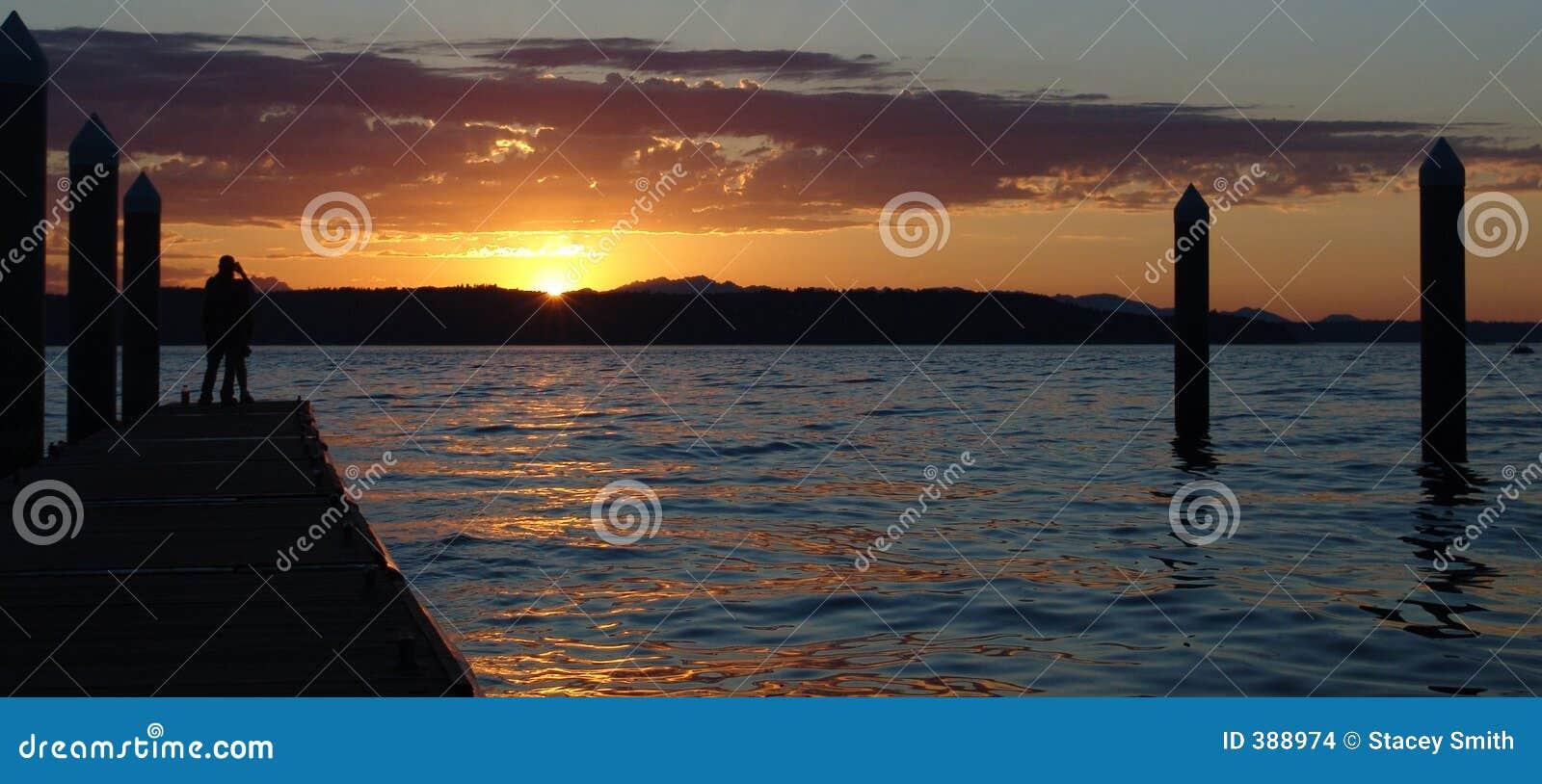 Coucher du soleil de Redondo