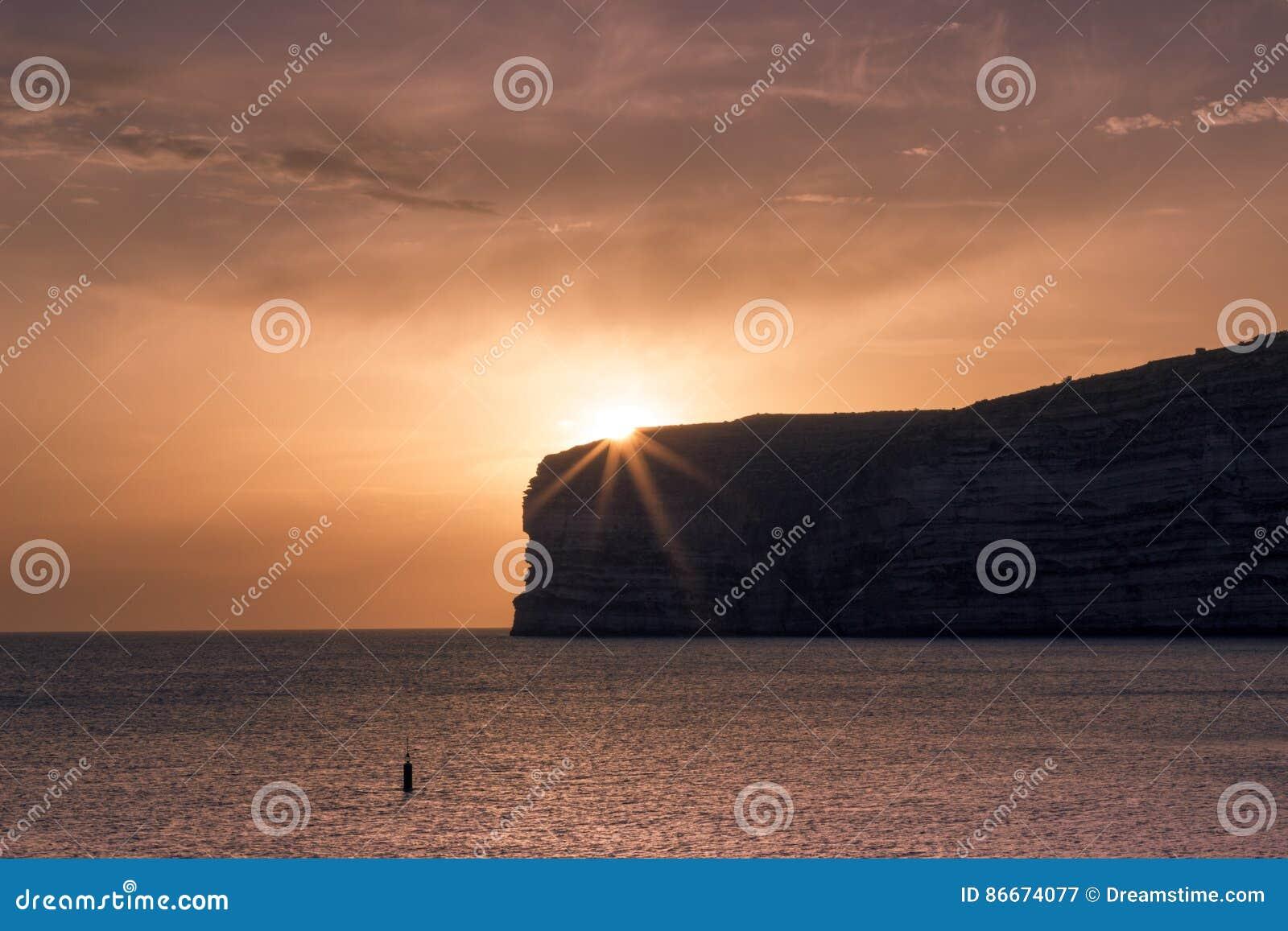 Coucher du soleil maltais