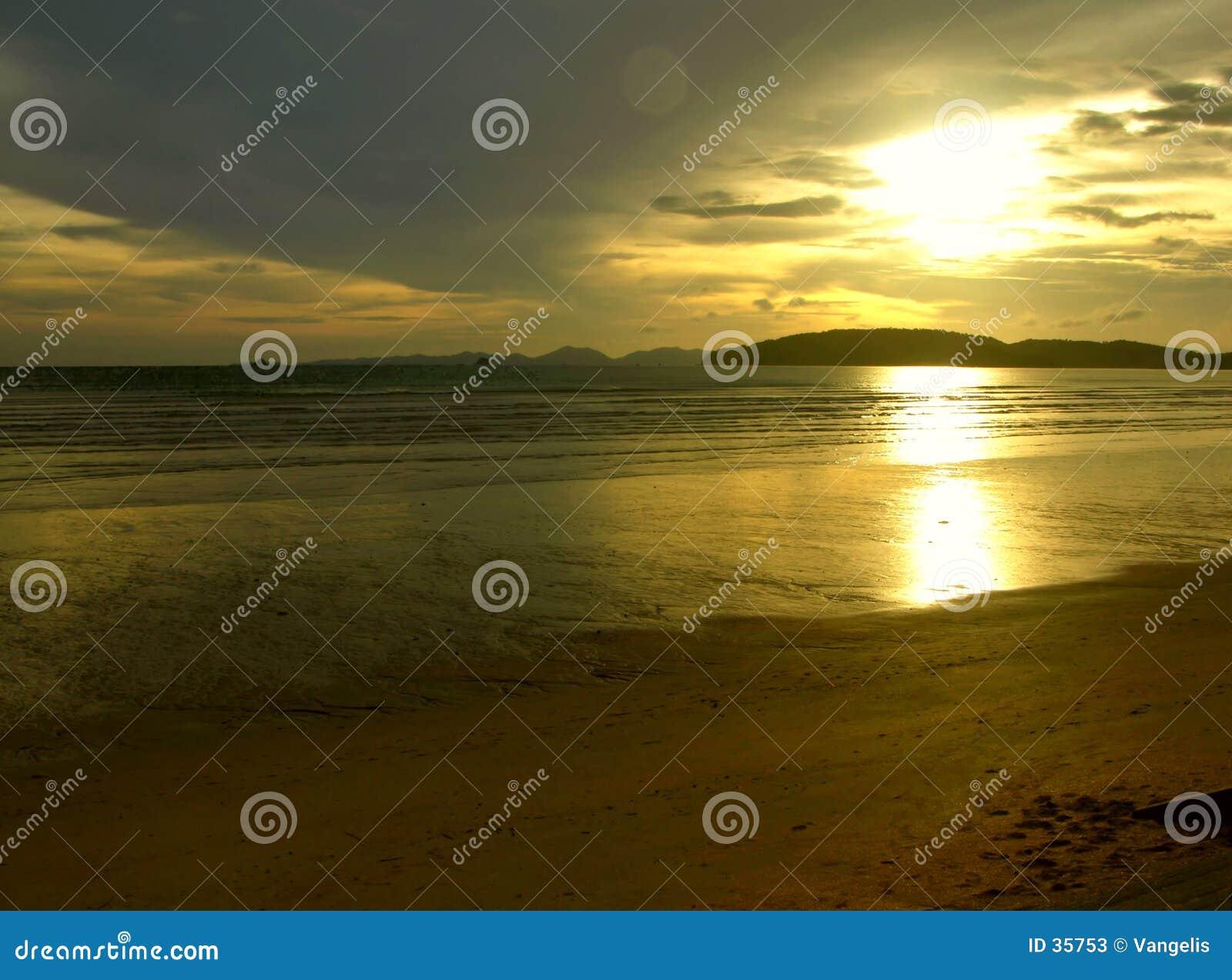 Coucher du soleil mystique II