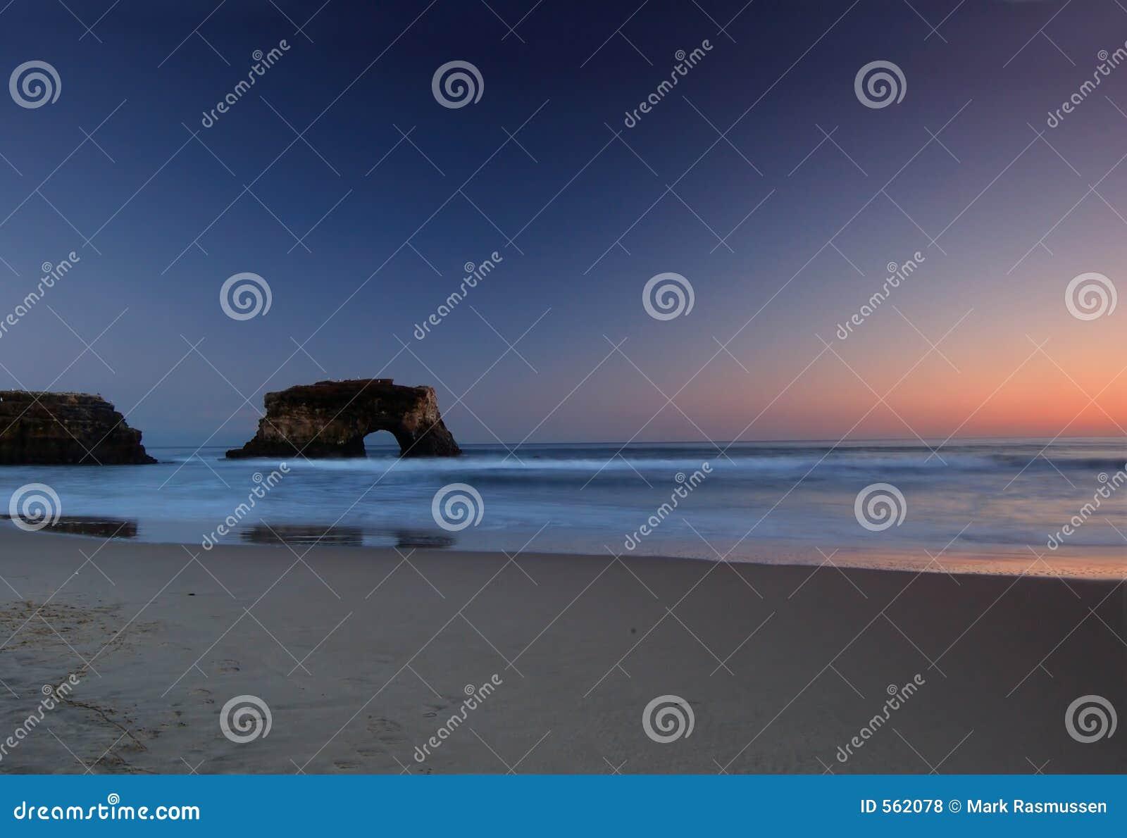 Coucher du soleil Pacifique