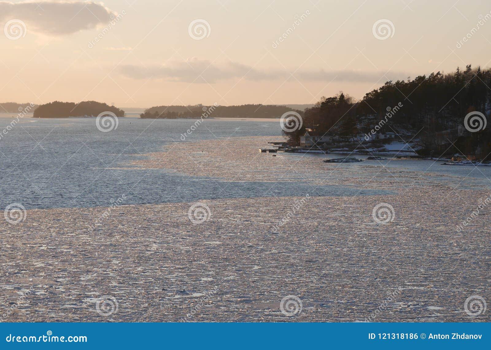 Coucher du soleil Suède