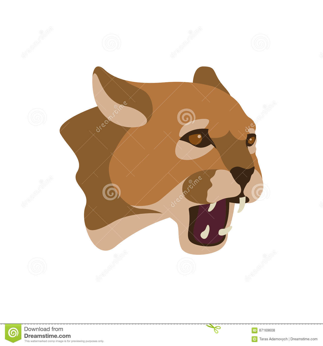 Cougar Head Face Vector Illustration Style Flat additionally Stock Vector Black Panther Attack Isolated Vector Tattoo Flash With Background also Stock Vector Vector Image Of An Panther Design On White Background And Dark Blue Background Logo Symbol besides Stock Photo Russian Blue Cat moreover Stock Vector Set Of Silhouettes Of Crocodiles On A White Background. on zentangle stylized wild lion animal cartoon angry white background