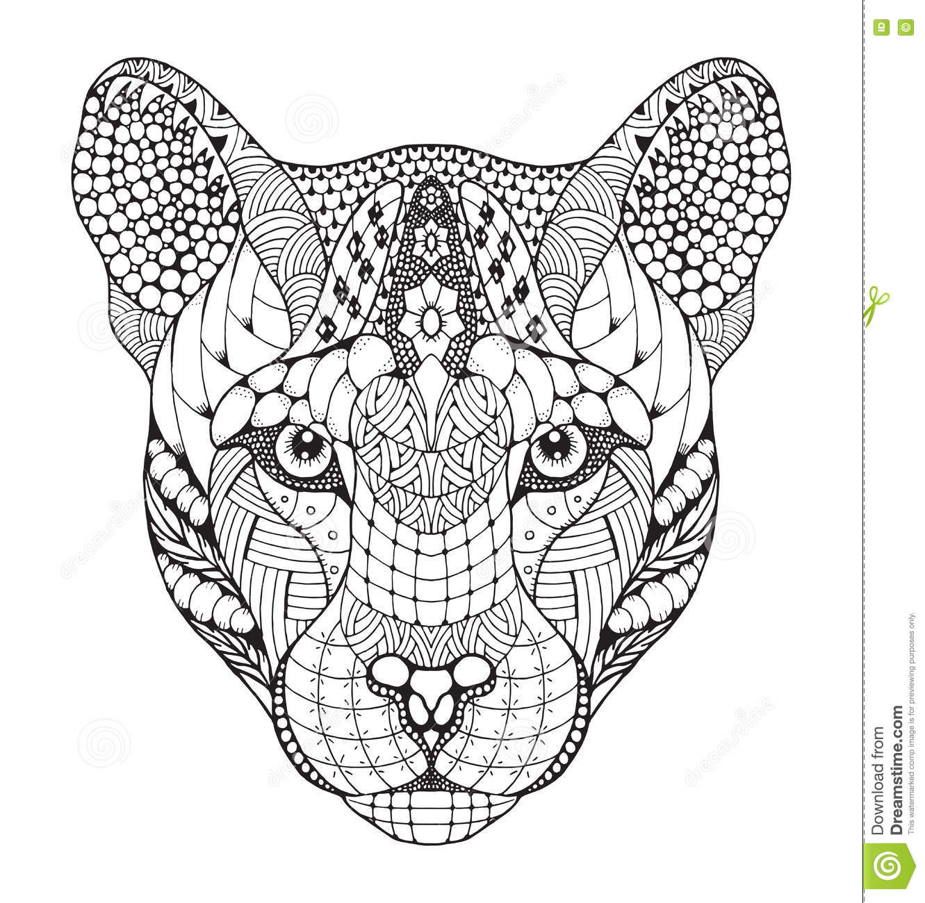 Pencil Of Cougars Coloring Pages