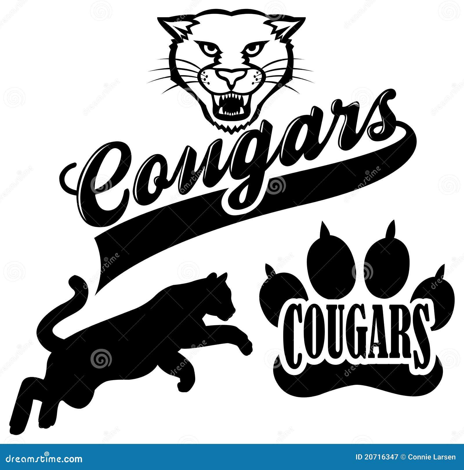 cougar team mascot stock illustration illustration of champion rh dreamstime com Puma School Mascot Wildcat Mascot Clip Art