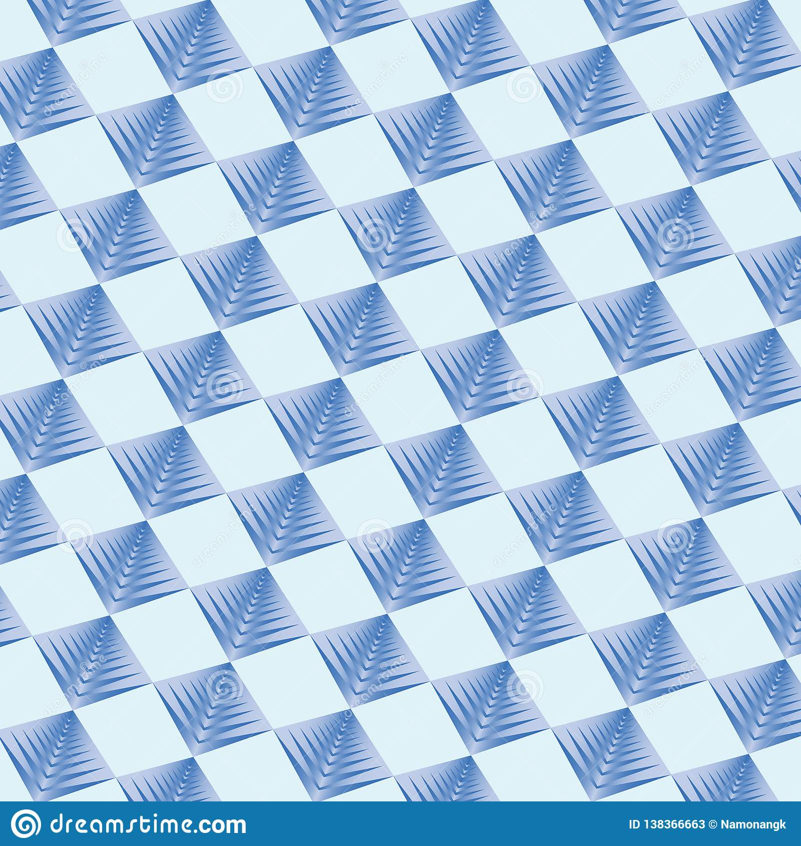 Couleur bleue de fond géométrique de modèle