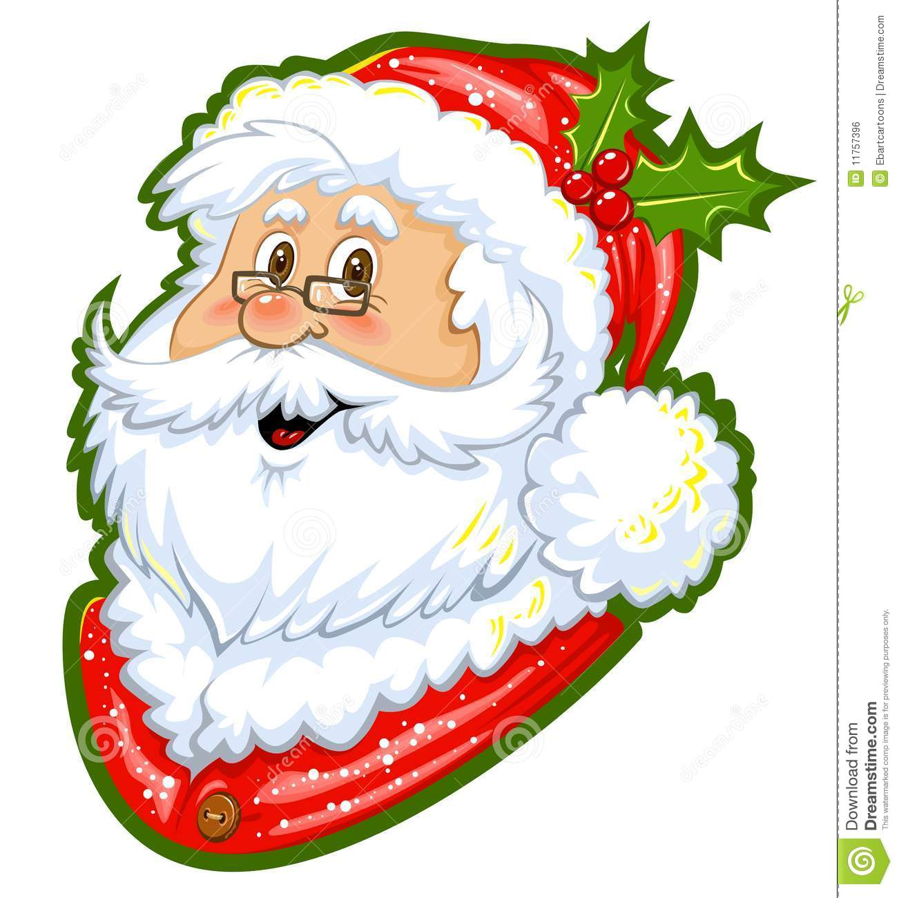 Couleur clipart du p re no l illustration stock illustration du jouets tra neau 11757396 - Clipart pere noel gratuit ...