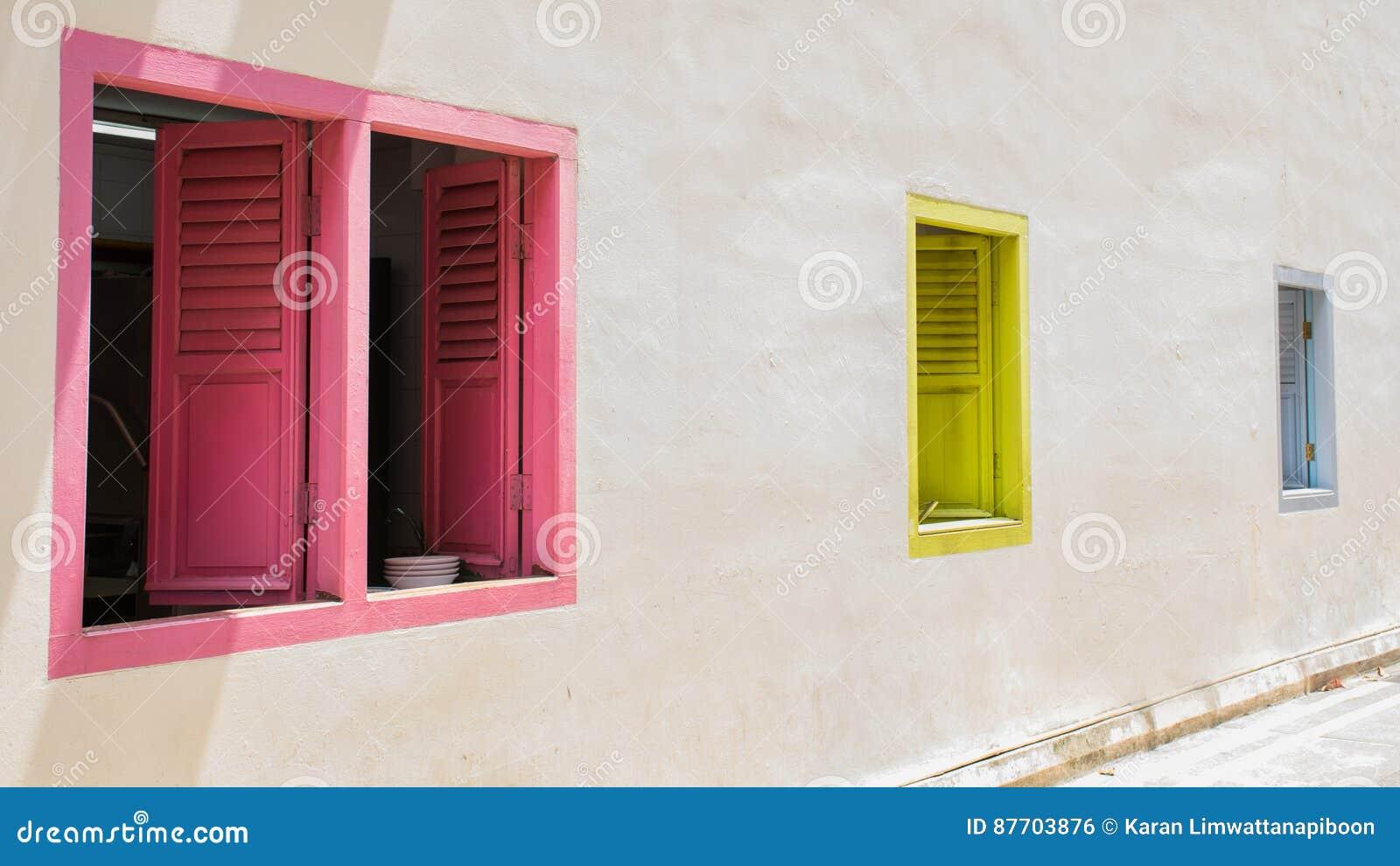 Couleur des fenêtres
