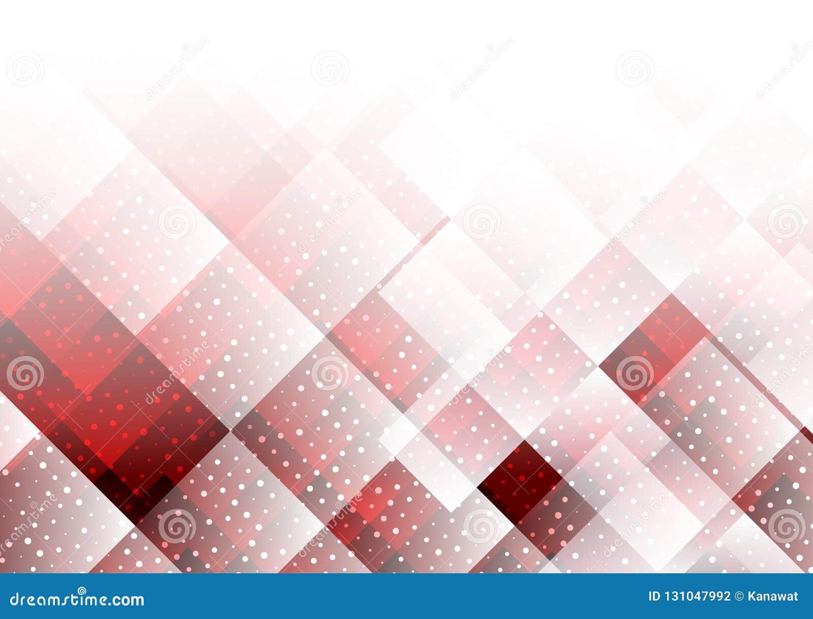 Couleur Avec Du Rouge couleur rouge d'éléments géométriques avec le fond abstrait
