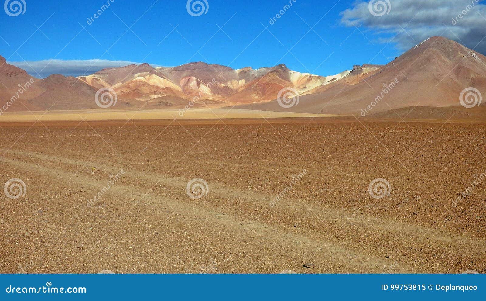 Couleurs dans Altiplano La Bolivie, Amérique du Sud