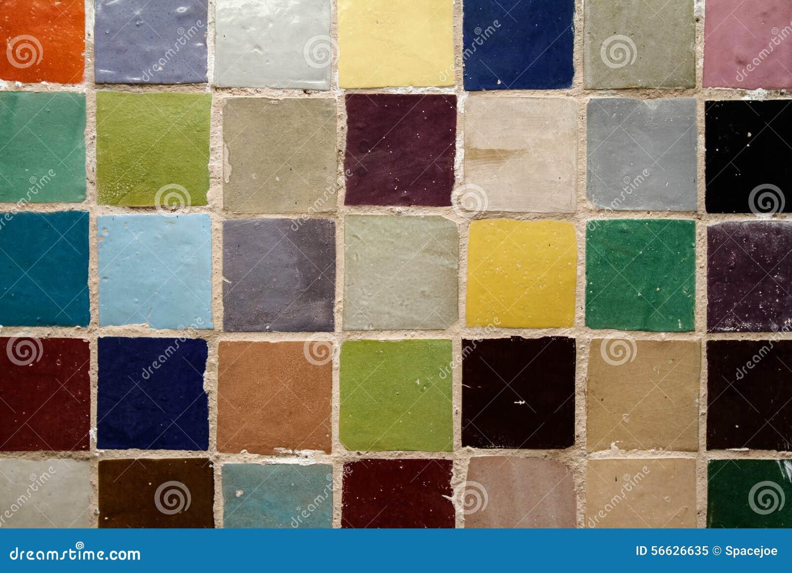 couleurs de zellige de marocain image stock image 56626635. Black Bedroom Furniture Sets. Home Design Ideas