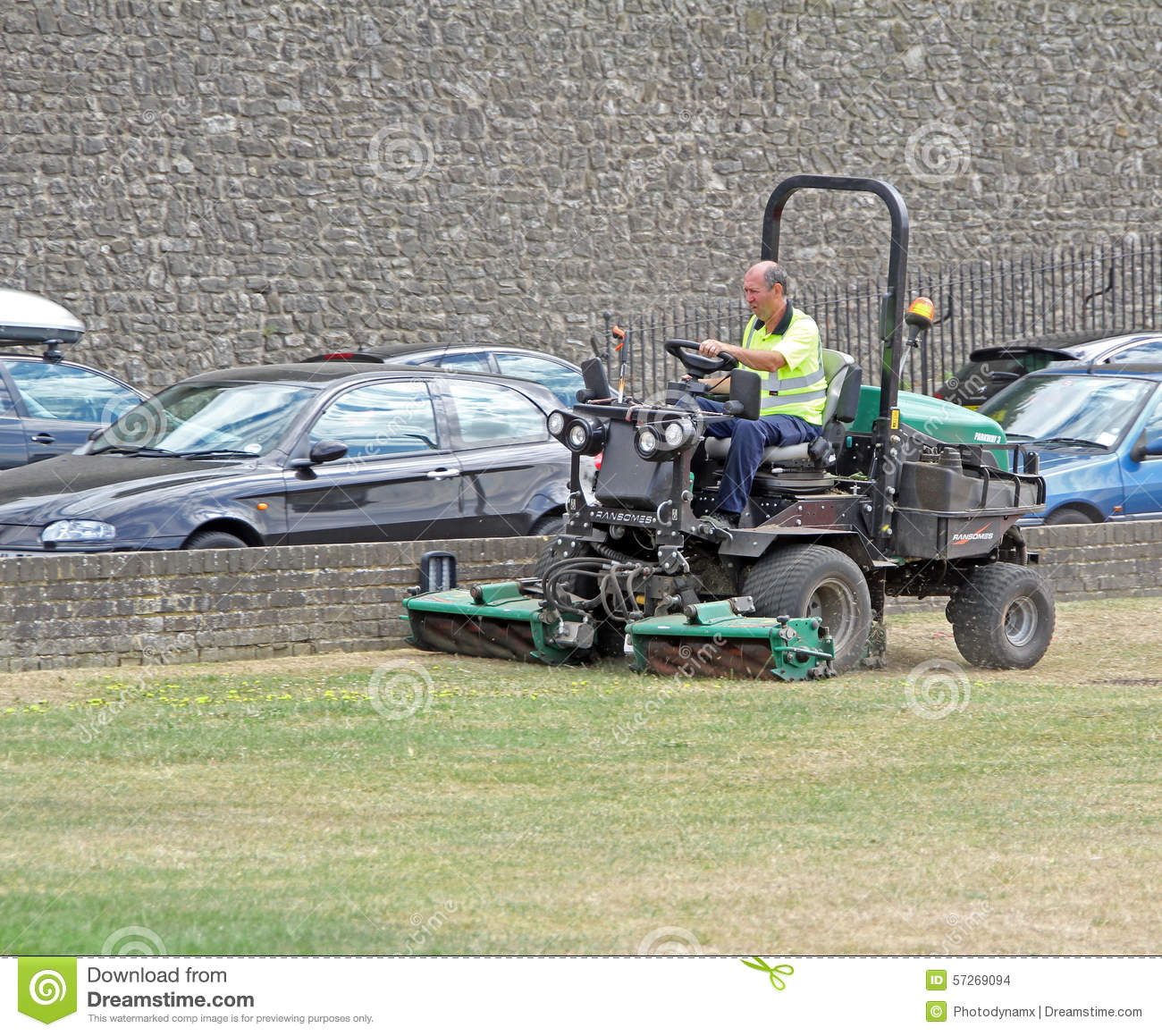 Council Gardener Worker Editorial Stock Image Image Of