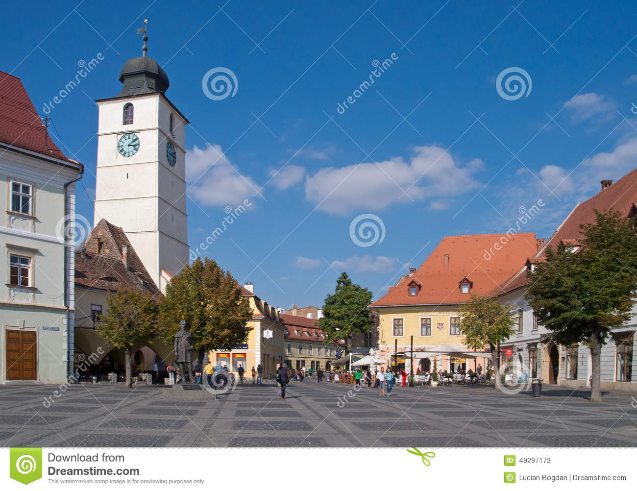 The Council Tower in the Large Square of Sibiu