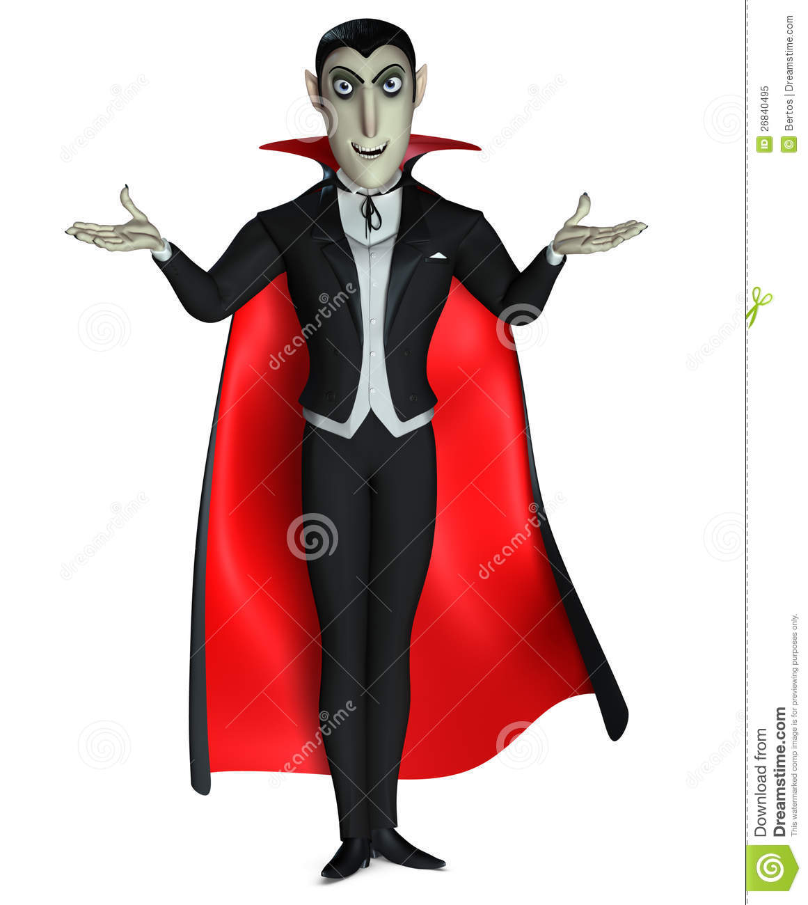 Count Dracula Royalty Free Stock Photo - Image: 26840495