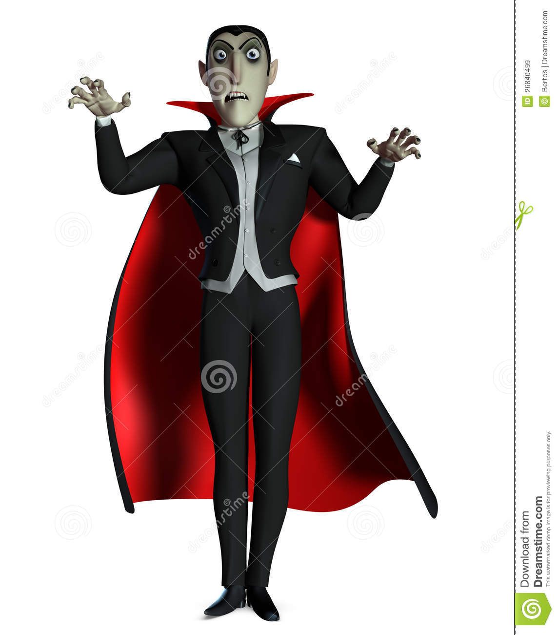 The three themes in the evolution of count dracula