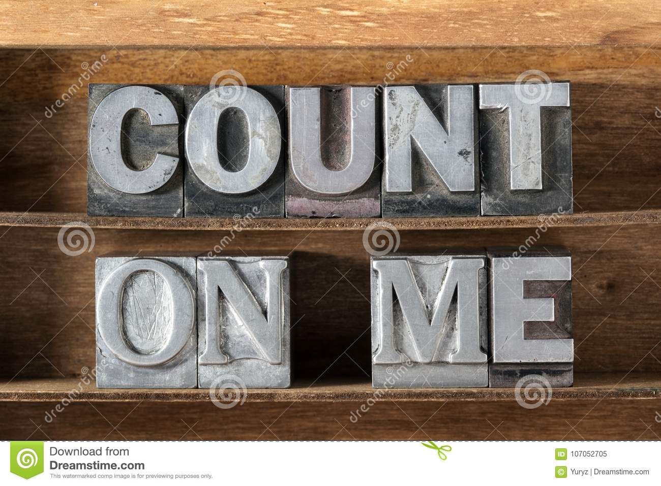 Count on me tray