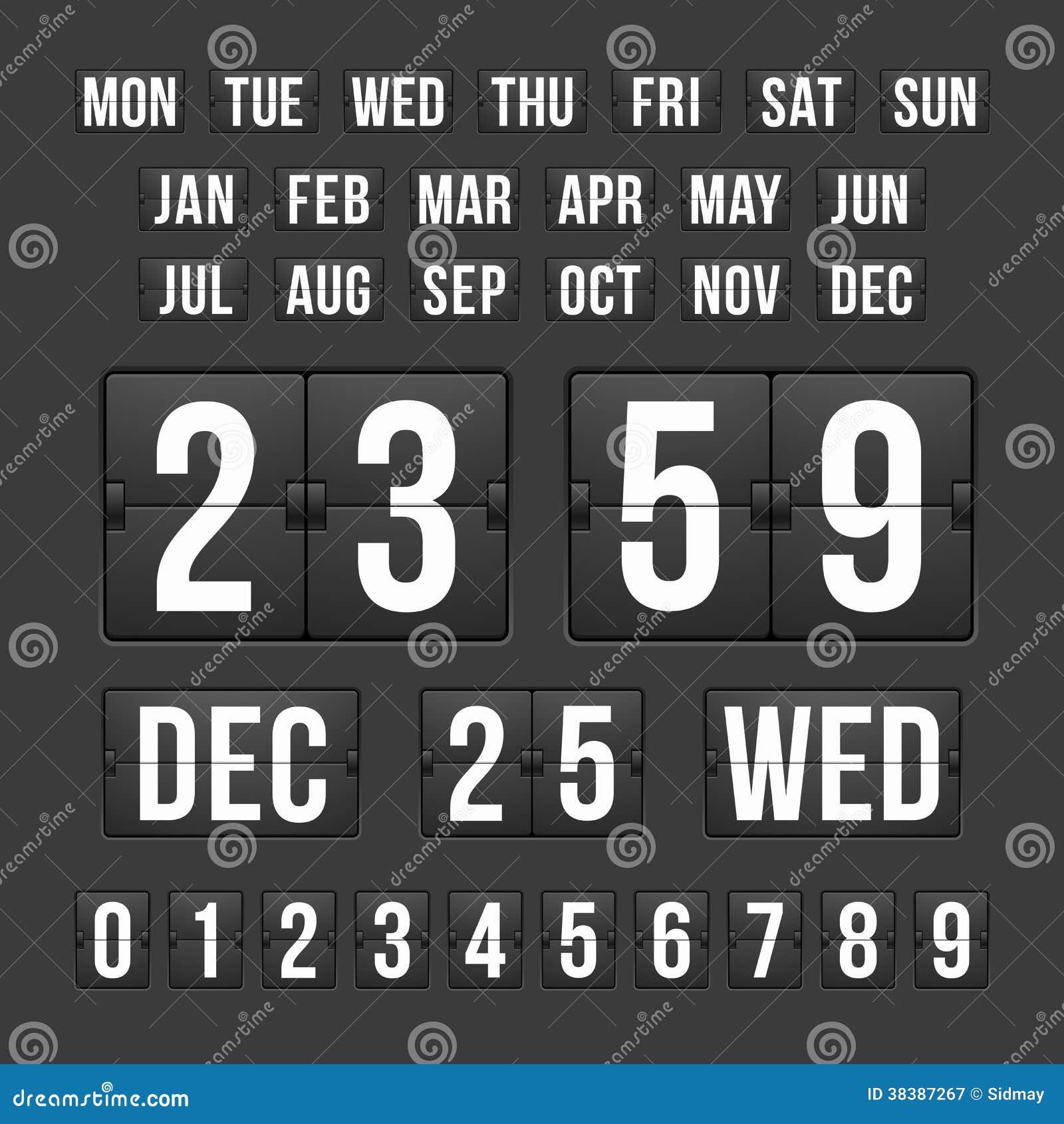 Countdown timer online date in Brisbane