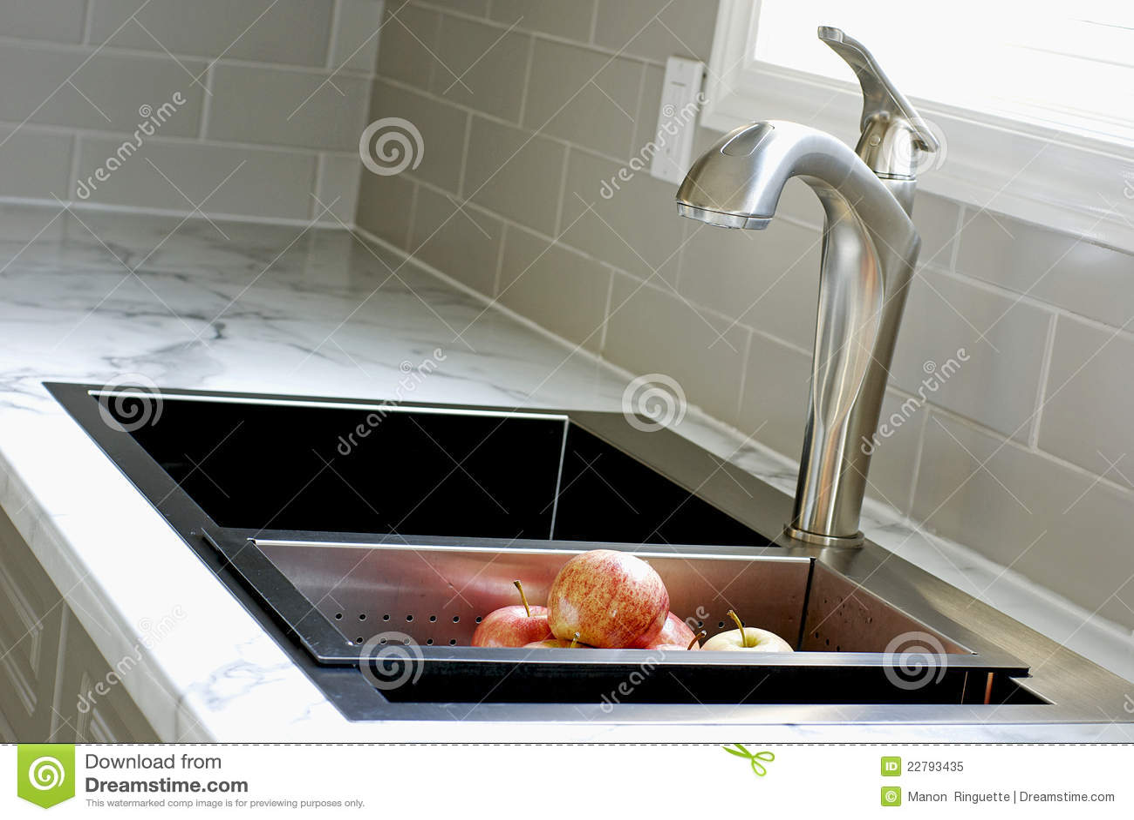 Countertop σύγχρονη καταβόθρα κουζινών