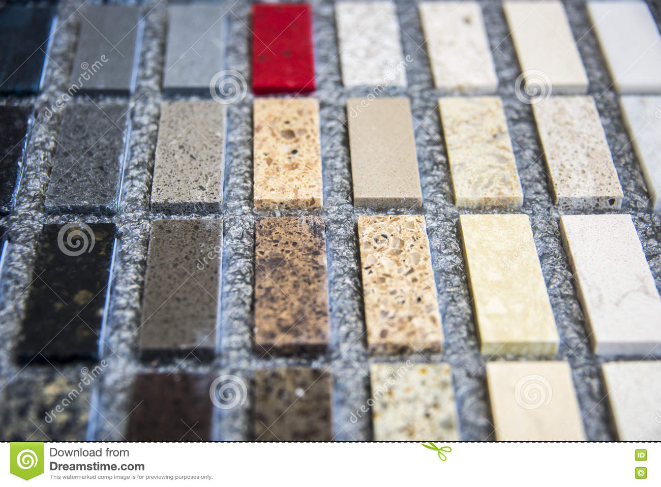 Download Colorful Stone Color Samples Of Kitchen Countertops. Granite  Counters, Marble Countertop And Quartz