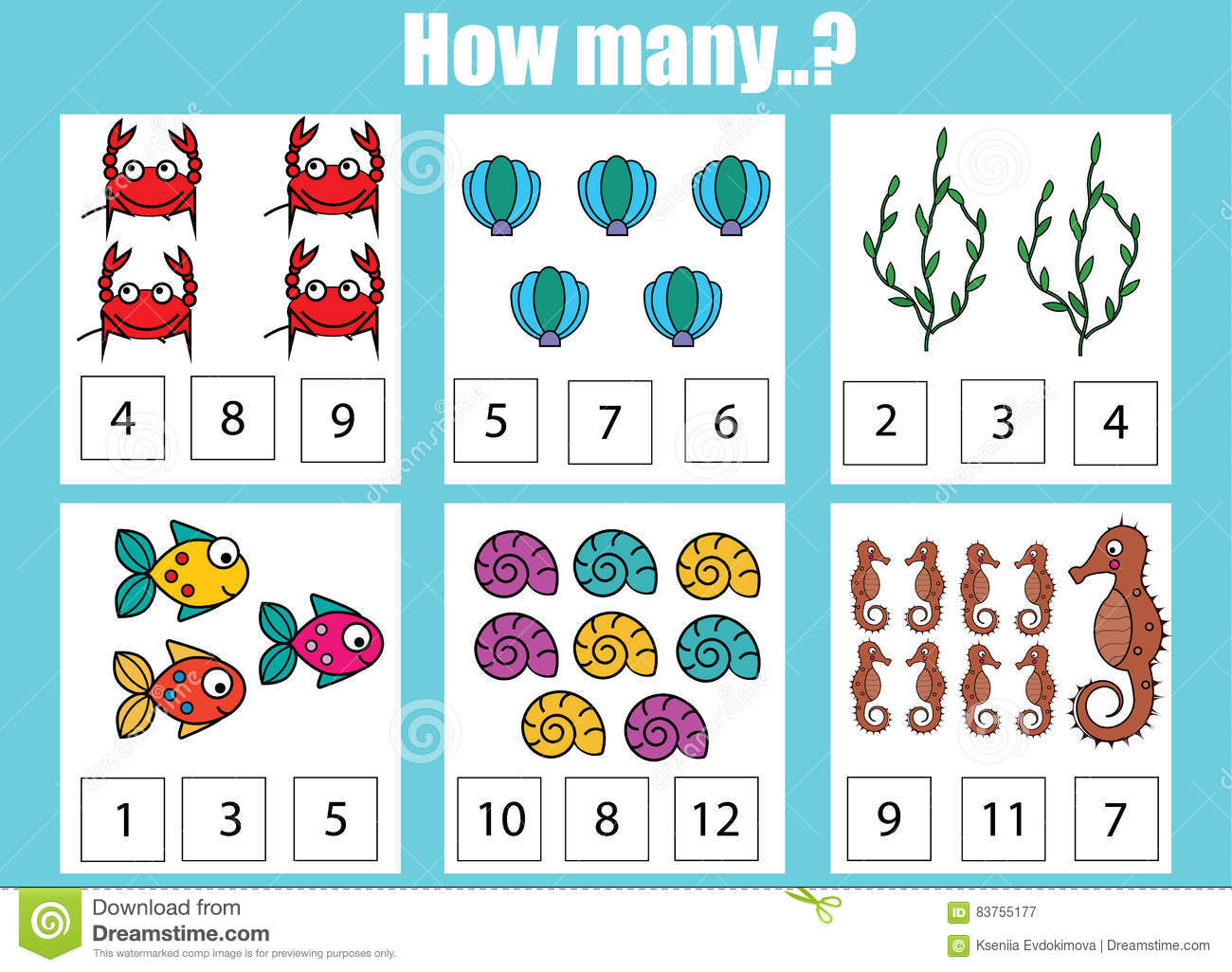 Magnificent 7 Images Of Summer Math Work For Kids Printable Gallery ...