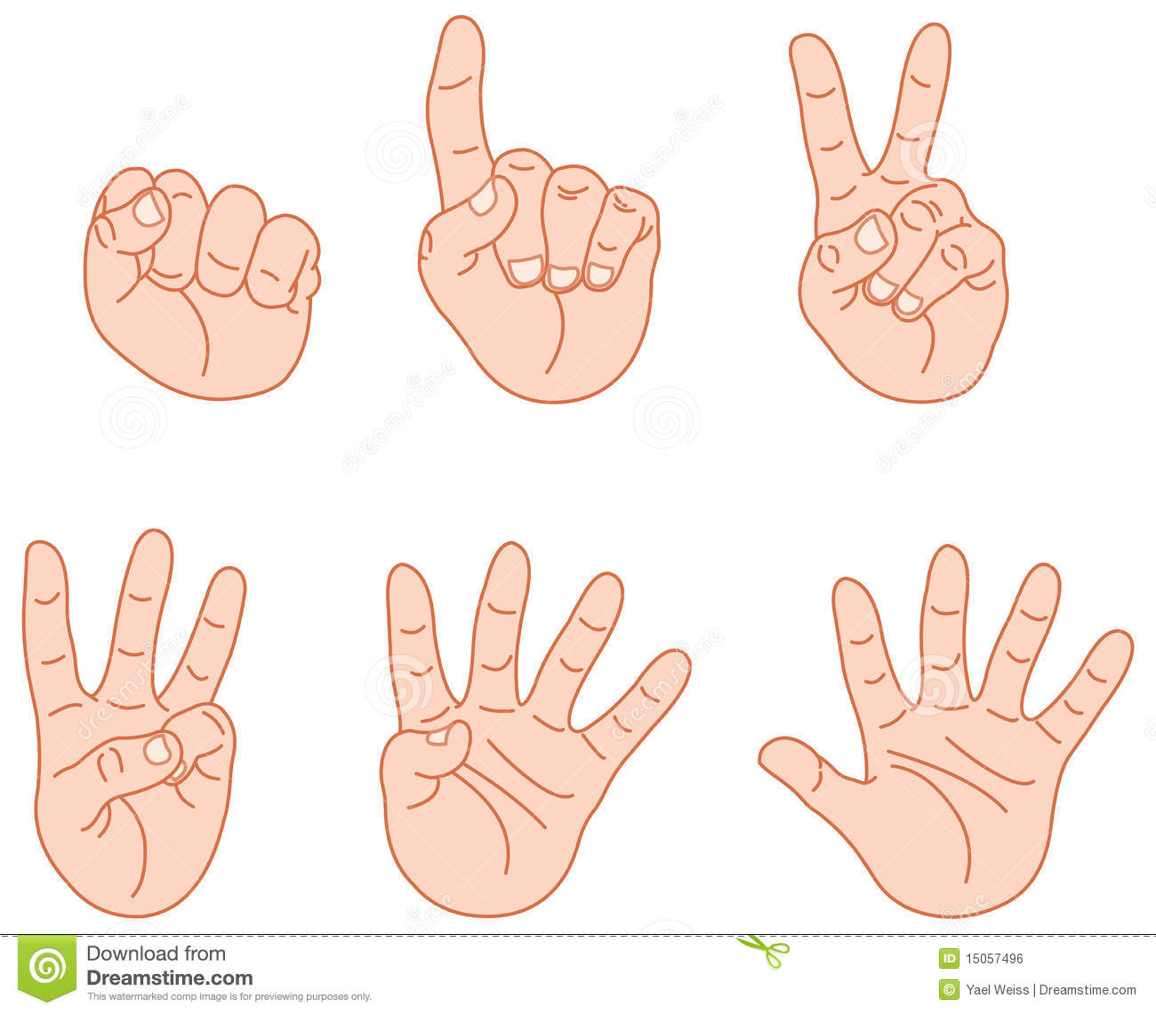Counting Fingers Royalty Free Stock Image - Image: 15057496