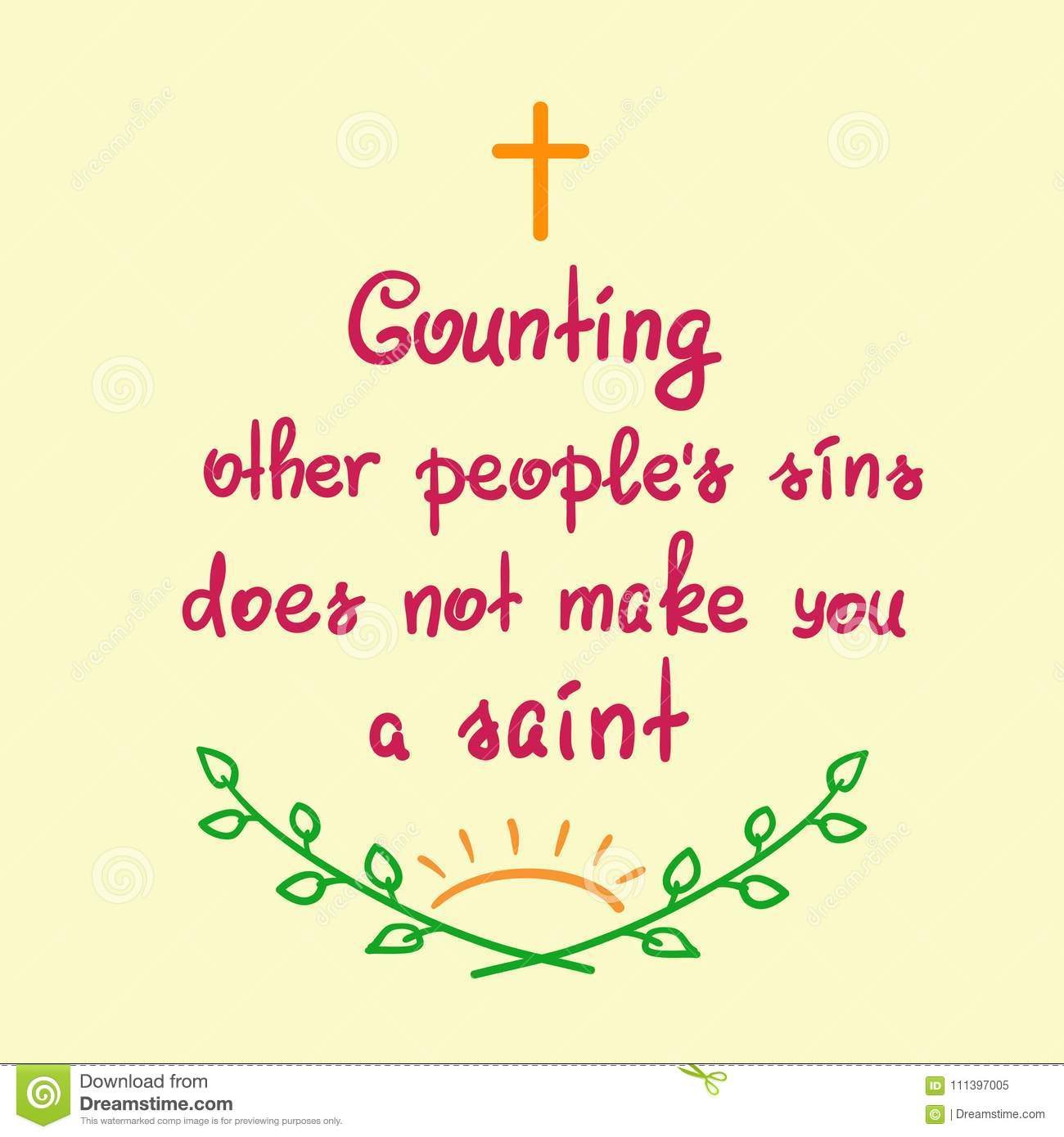 counting-other-people-s-sins-does-not-ma