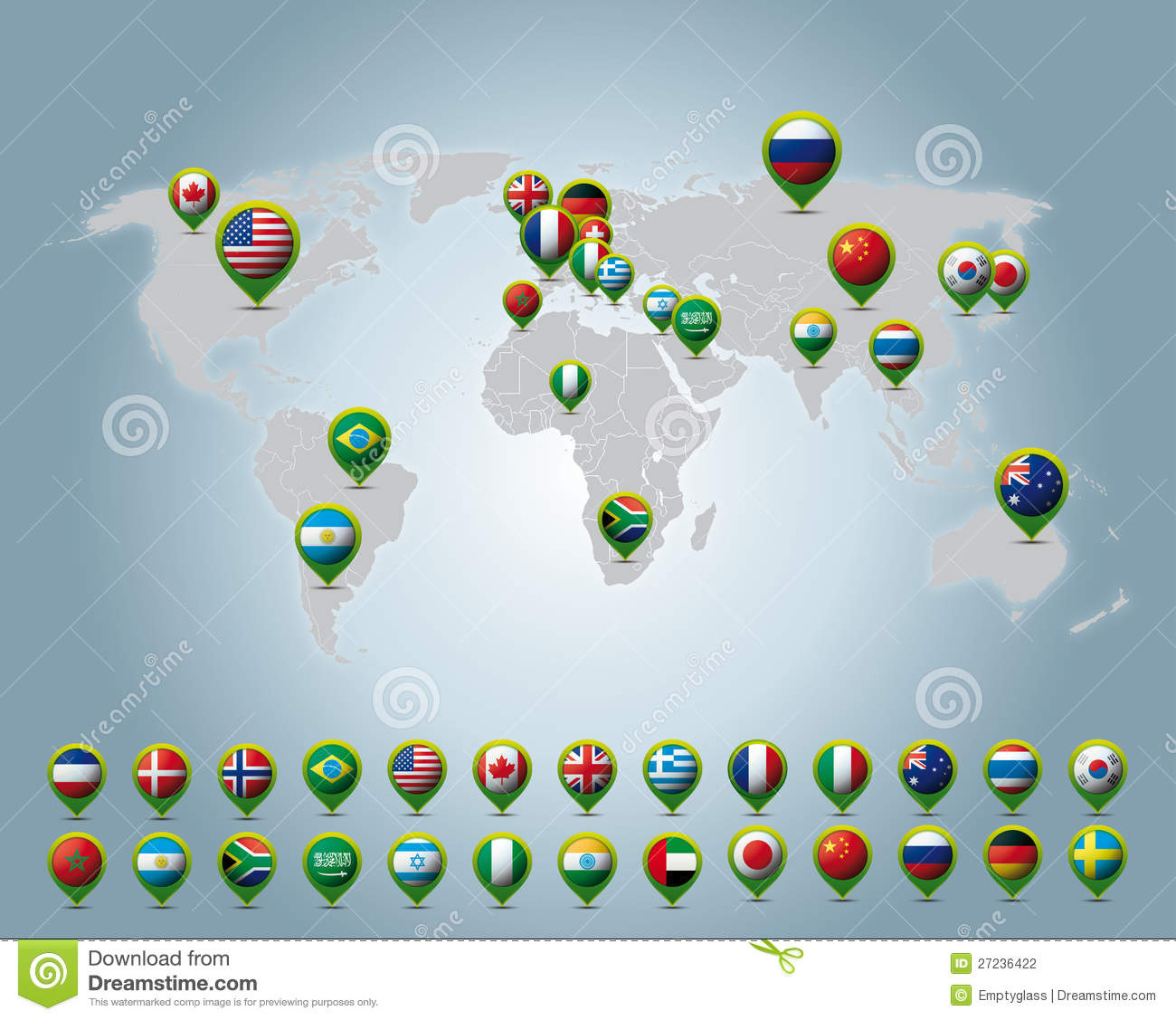 Stock Photography Countries 3d Pins Image27236422 on file symbol thumbs up color