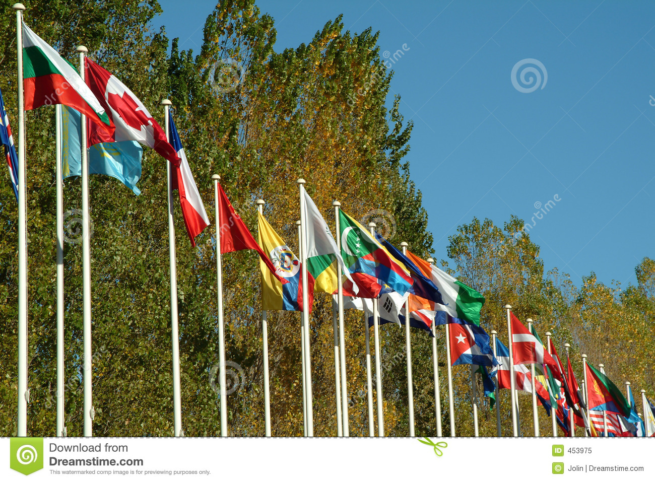 Download Countries flags stock image. Image of united, business - 453975