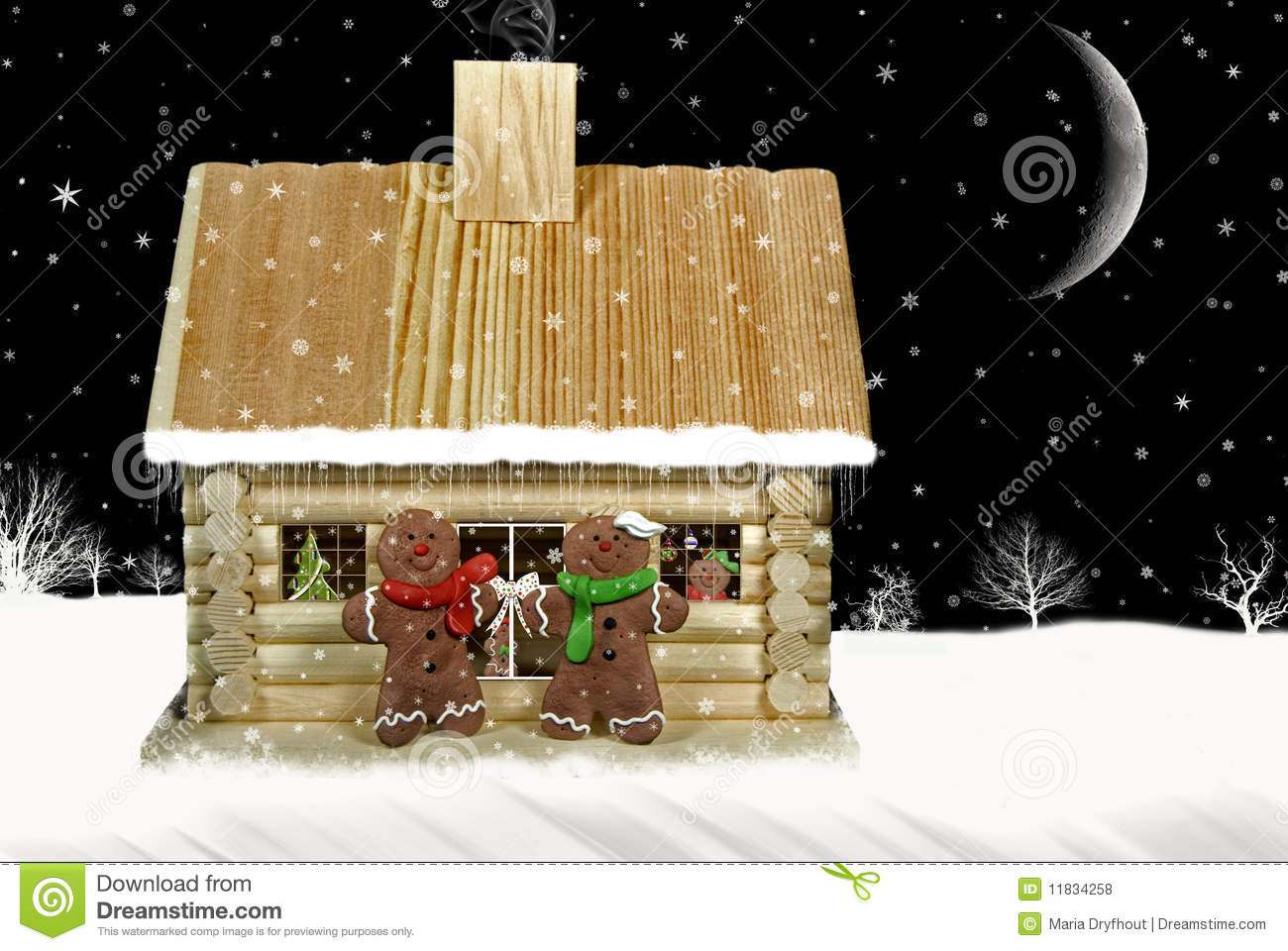 Country christmas royalty free stock photos image 11834258 for Country cabin christmas