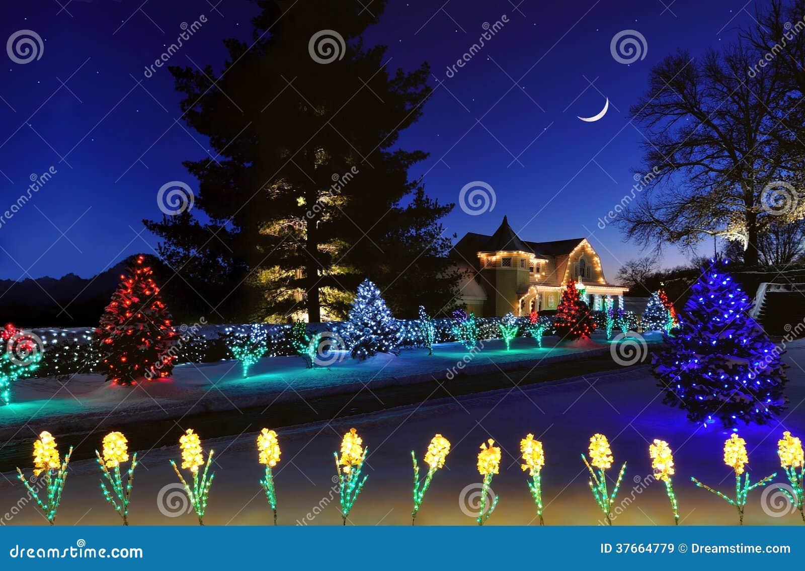 Country Christmas stock image. Image of oglebay, christmas - 37664779