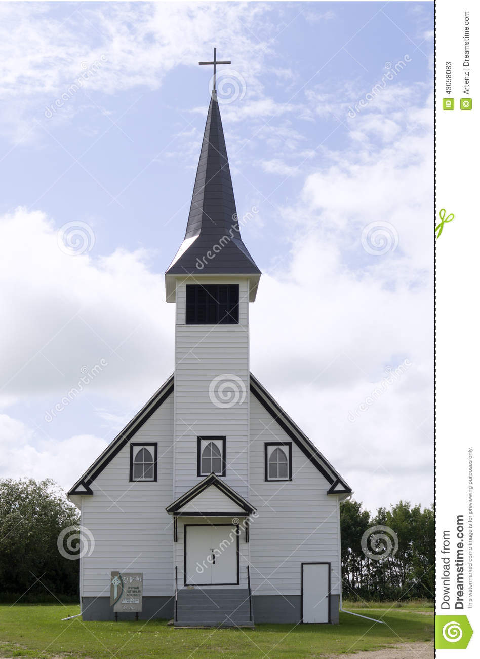 Download Country Church Stock Image Of Cross Religion