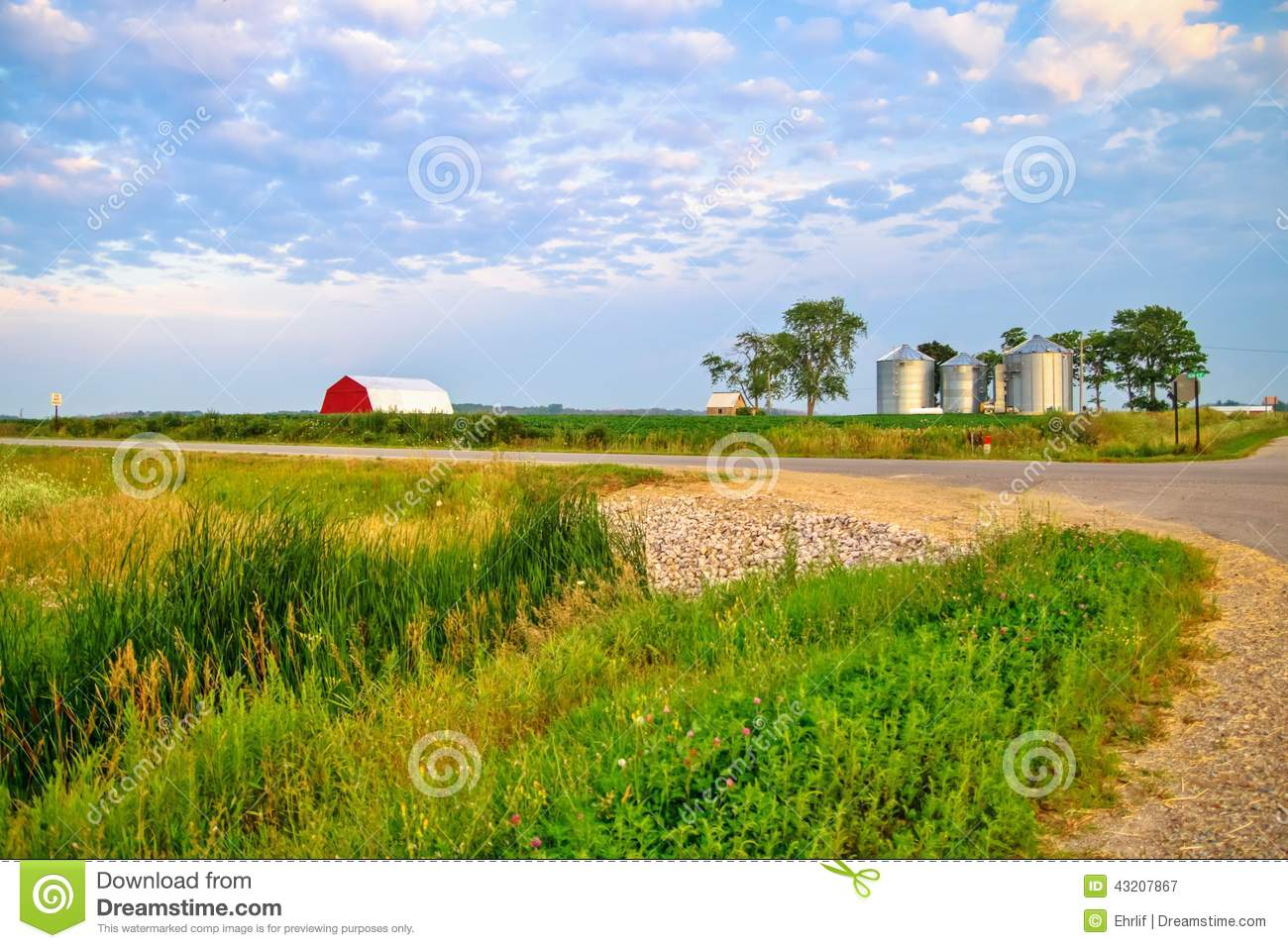 Country Corner Stock Photo Image 43207867