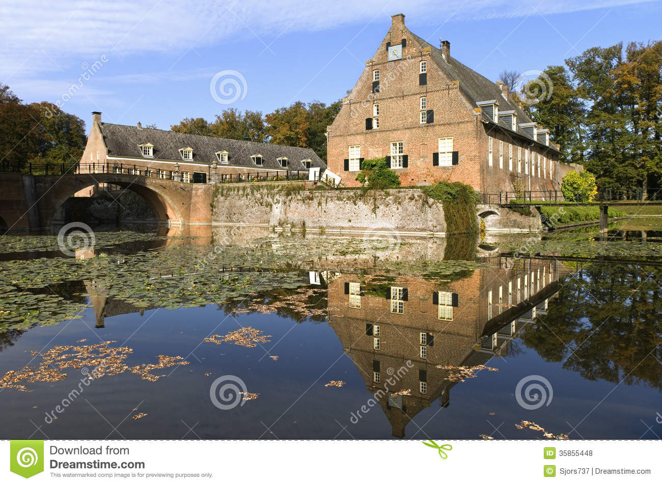 Country Estate Middachten With Carriage House Royalty Free Stock Photos Image 35855448